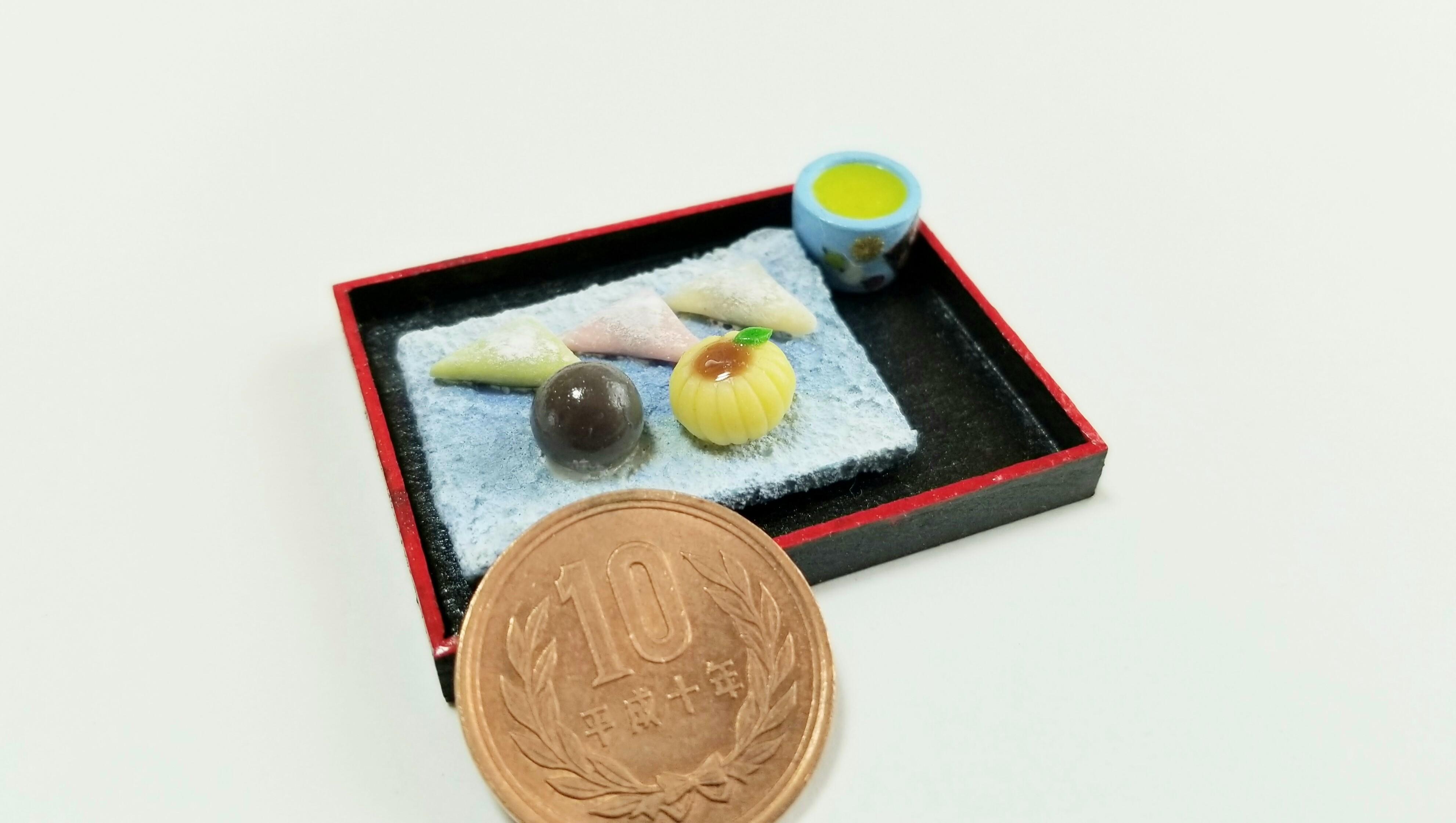 ミニチュアフード和菓子かわいいミンネで販売中おすすめ商品樹脂粘土