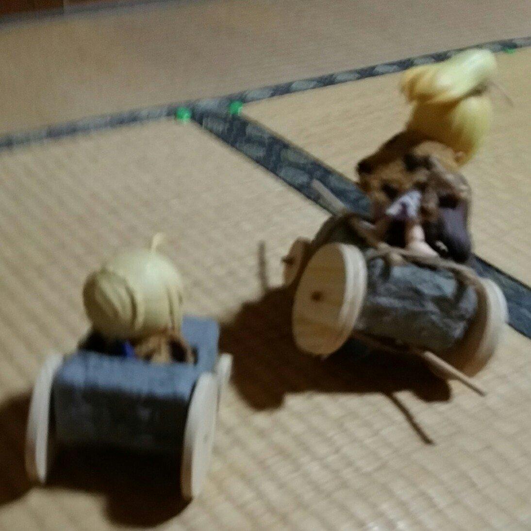 石車事故,かわいいキューポッシュ原始人,ドール用小物人形おもちゃ