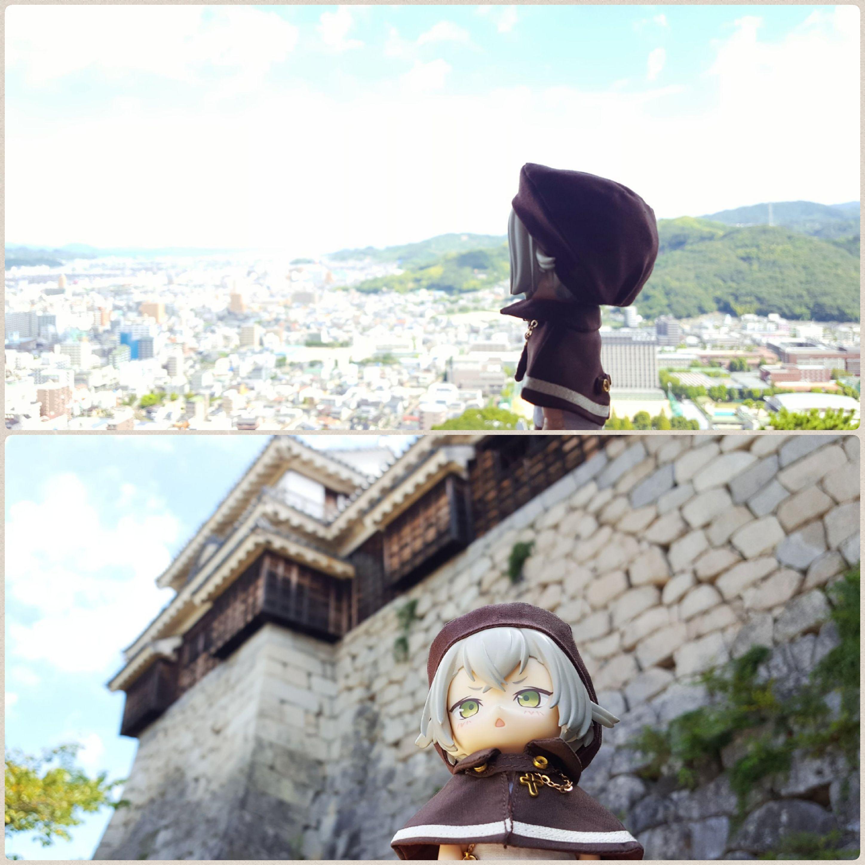 愛媛松山城,癒される旅,観光旅行の記念写真,日本全国,刀剣男士蛍丸