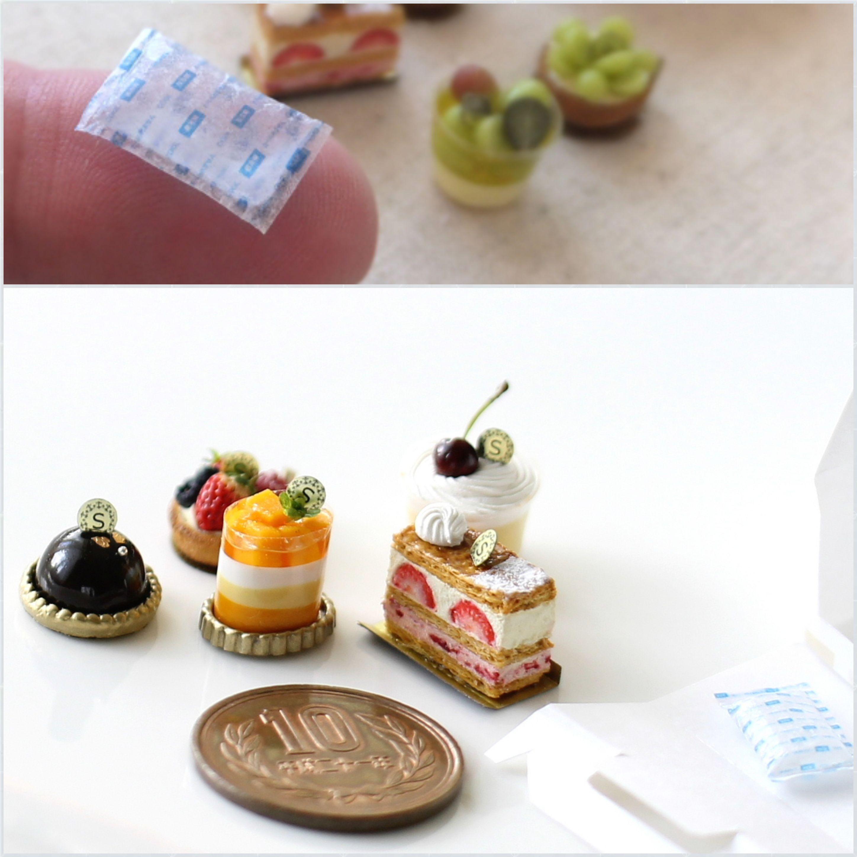 ミニチュアフード,樹脂粘土,リアル,本物みたい,ケーキ保冷剤,ブログ