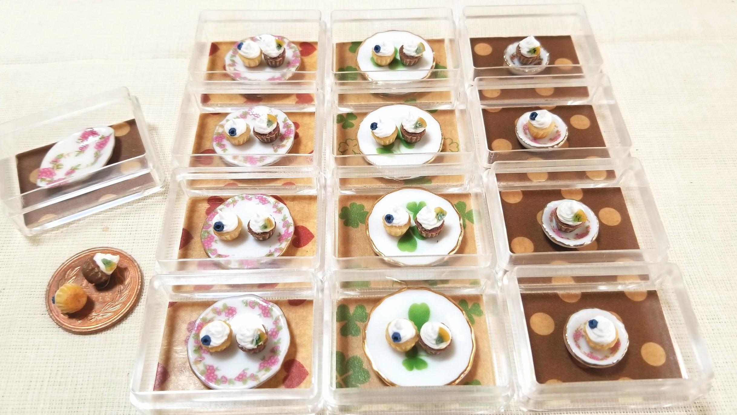 カップケーキ,ミニチュアフード,東京ドールハウスミニチュアショウ