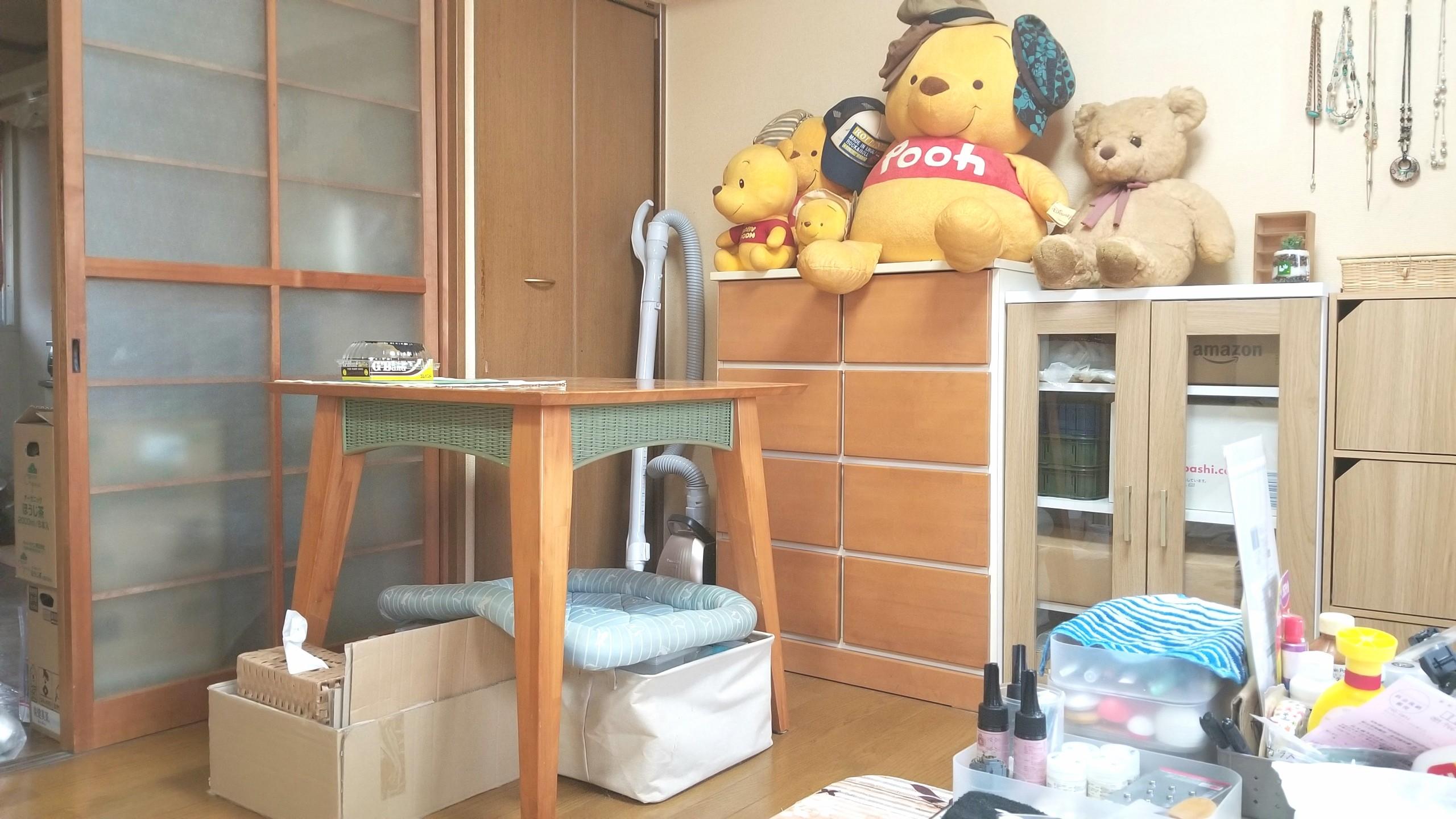 部屋,配置,ぬいぐるみ,女の子一人暮らし,レイアウト,片付け,綺麗