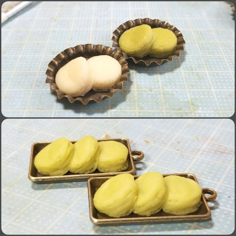 ホットケーキの作り方,ミニチュアフード,樹脂粘土,ドールハウス