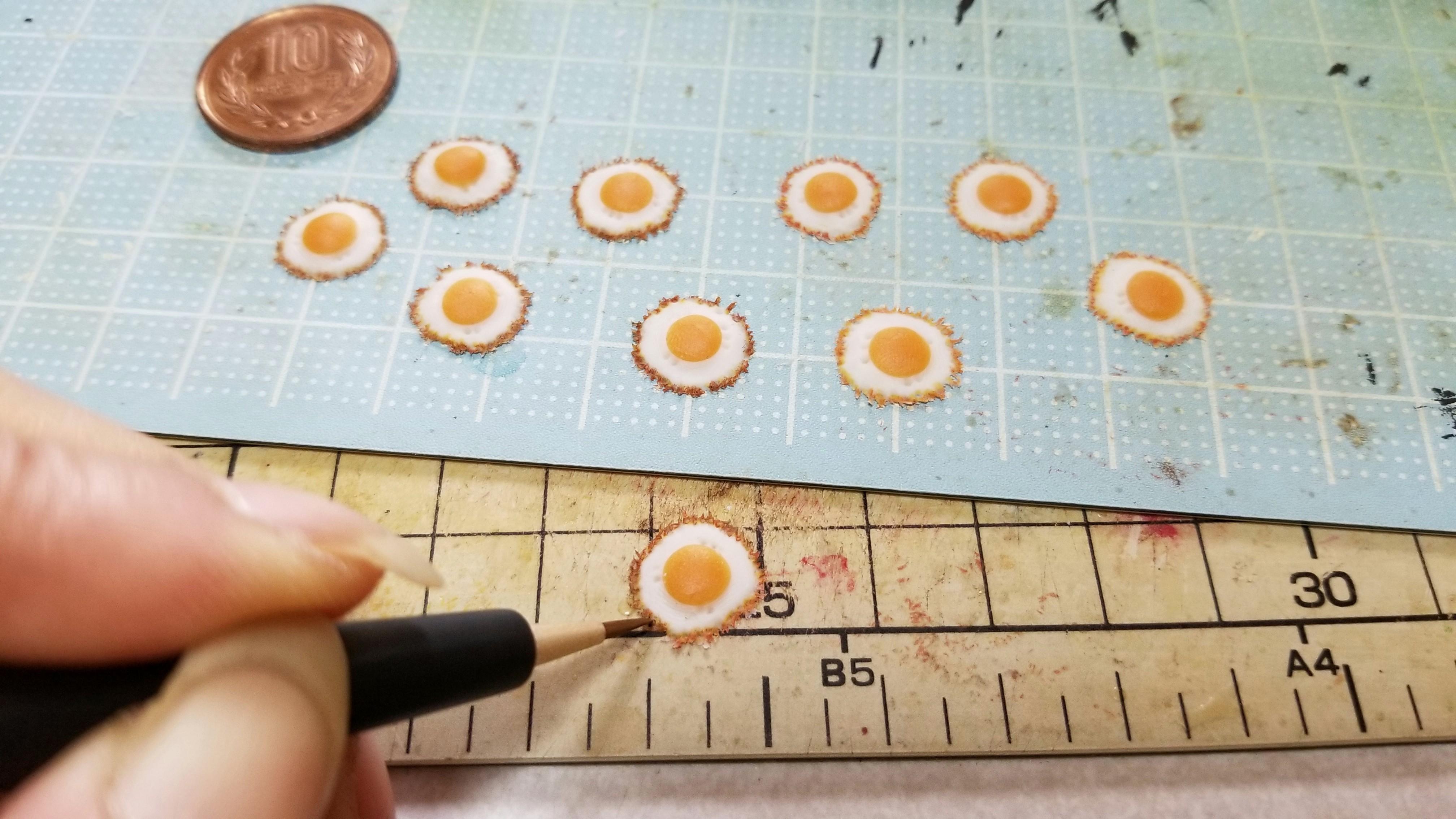 ミニチュアフェイクフード美味しい目玉焼きの作り方おすすめブログ