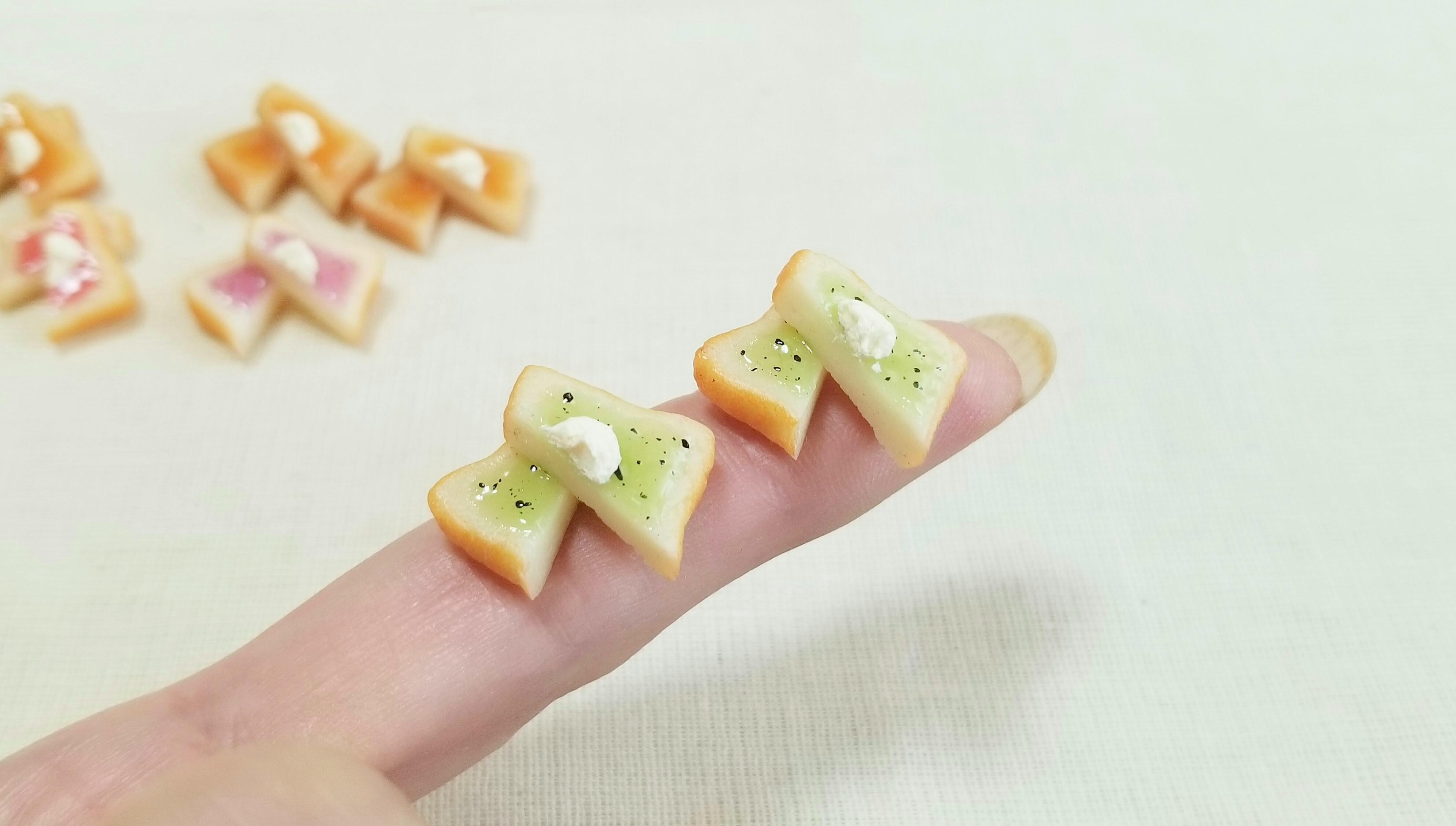 ミニチュアフードかわいいジャムパントーストドール用品小物おすすめ