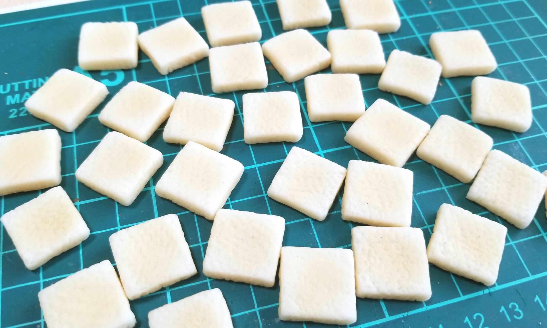 ラピュタトースト,作り方,樹脂粘土,食パン,フェイクフード,ジブリ
