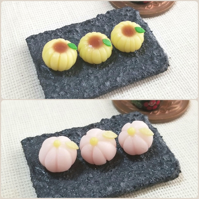 甘さ控えめの上品な和菓子,綺麗な練りきり,可愛い,食べたい,手作り