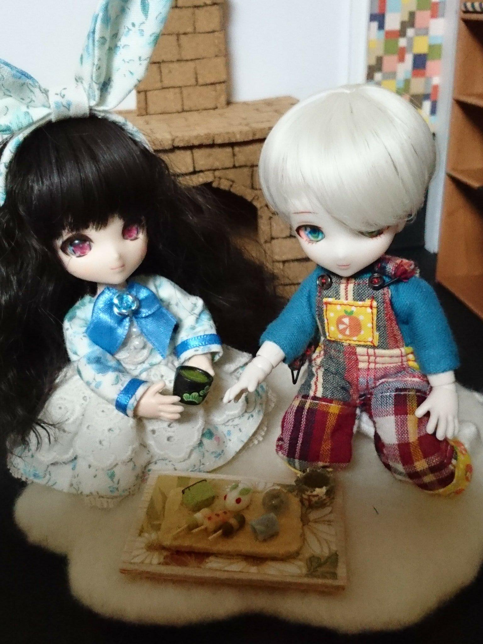 ミニスウィーツドール,あまむす,ミニチュアフード,和菓子,人形遊び