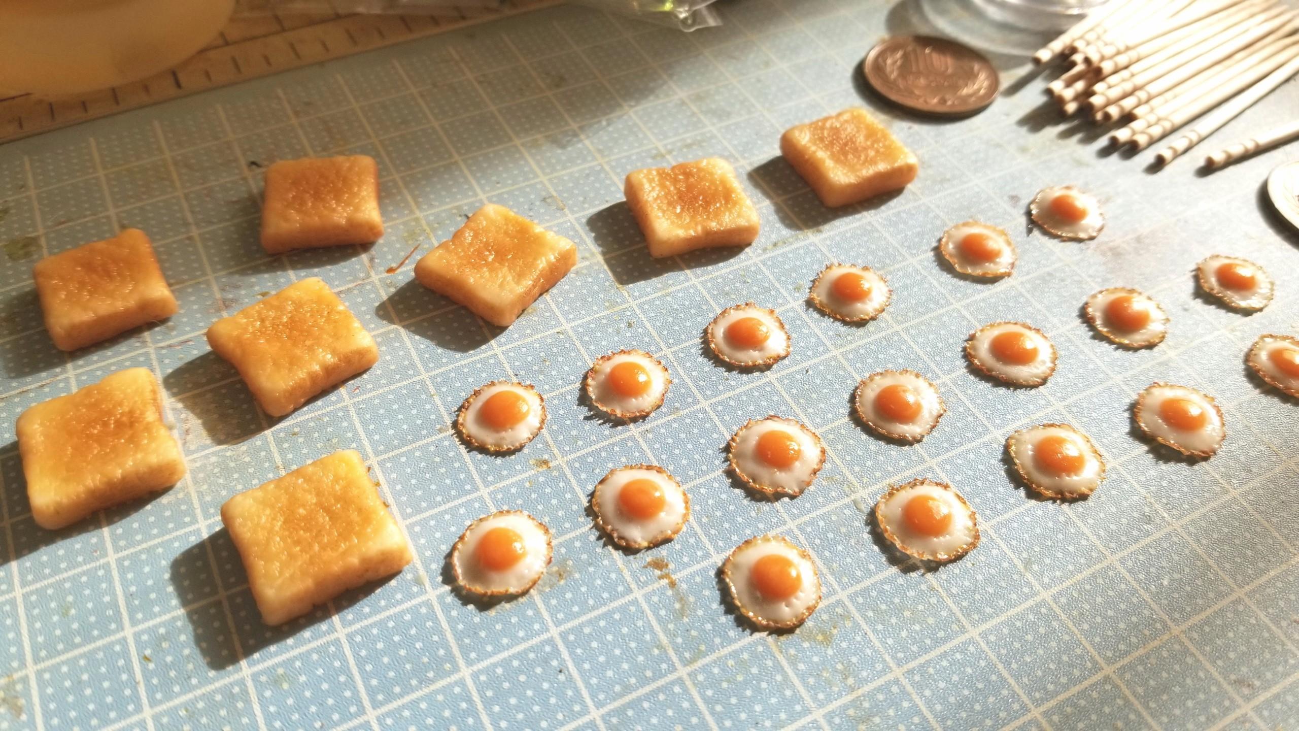 手作りパン,ラピュタトースト,アレンジ,目玉焼き,美味しい,かわいい