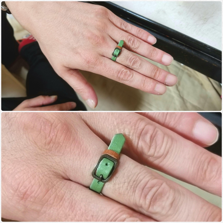 らぶらぶ彼氏と,仲良しカップル,本皮の指輪,好きなもの