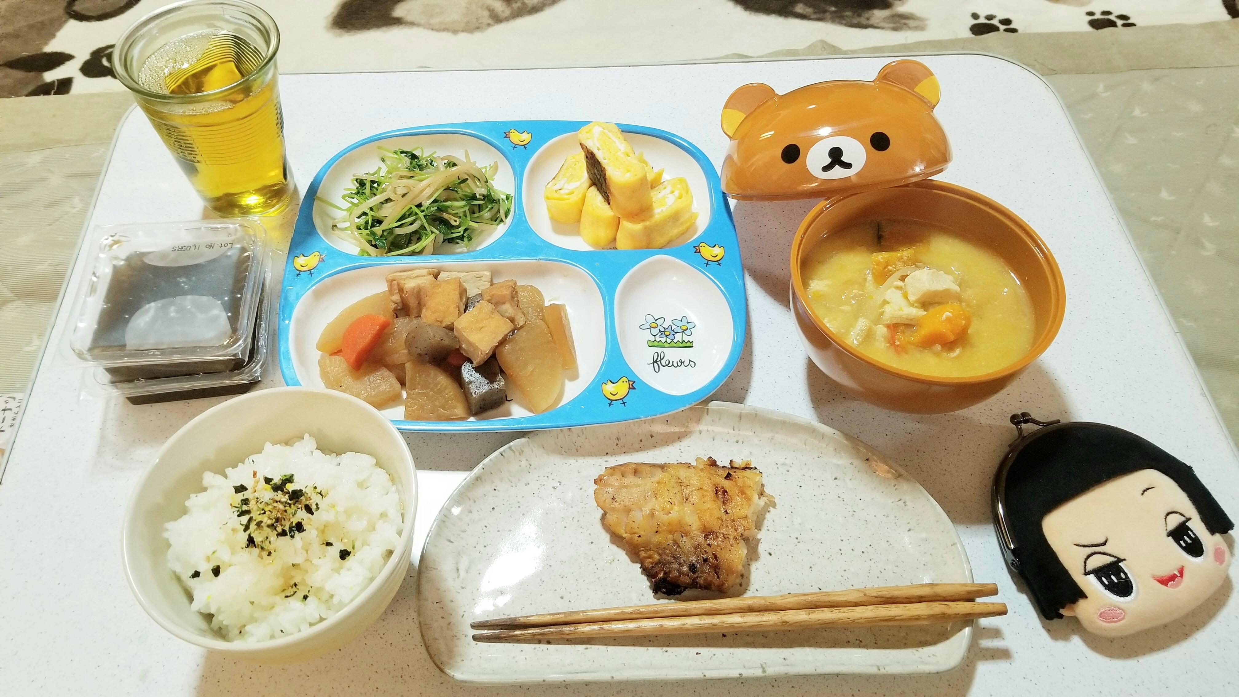 おばの手料理おいしい美味しそうな画像かわいい昼ご飯ランチ感謝
