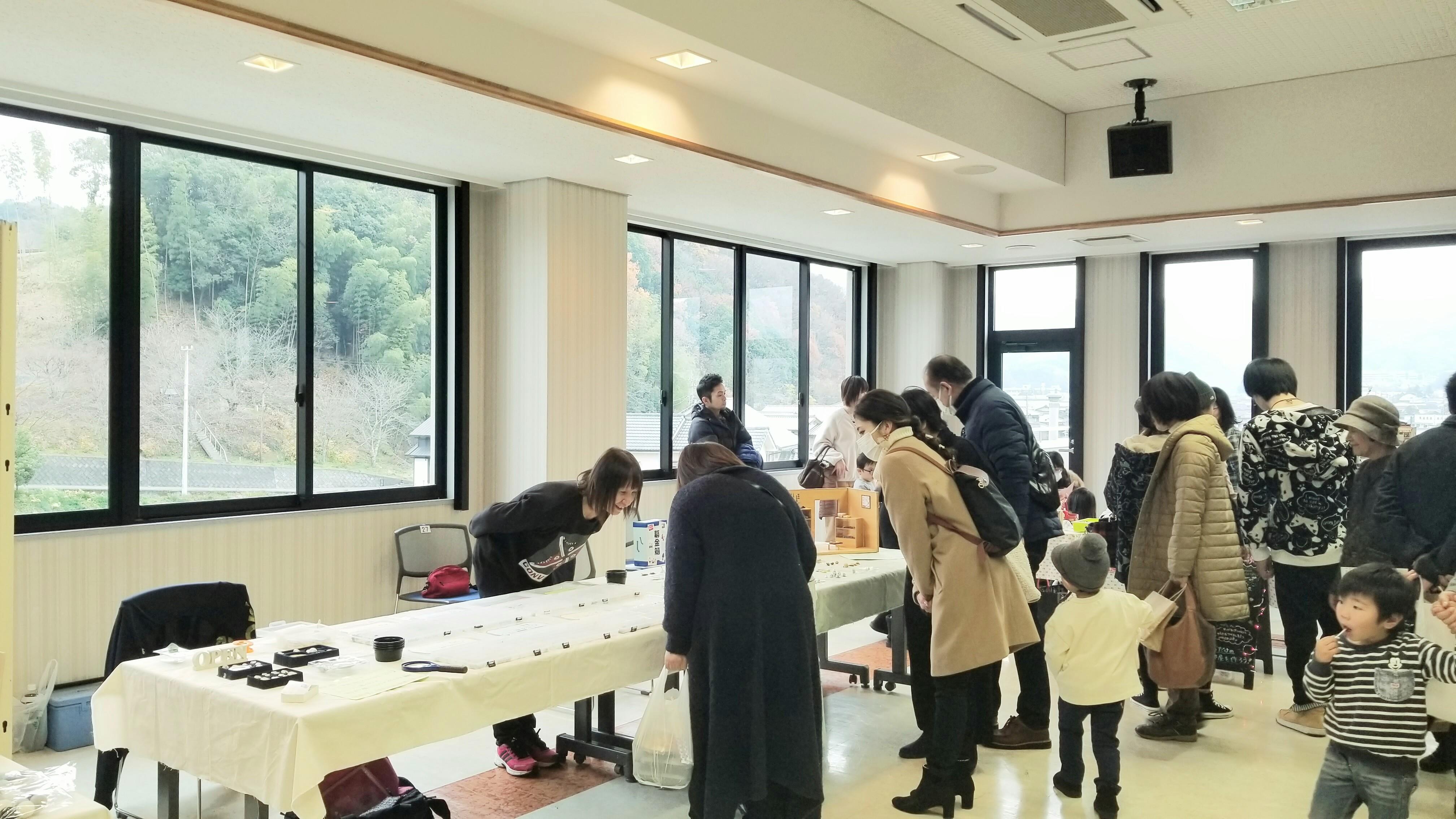 愛媛県松山市砥部町文化会館ハンドメイドクラフトマーケットイベント