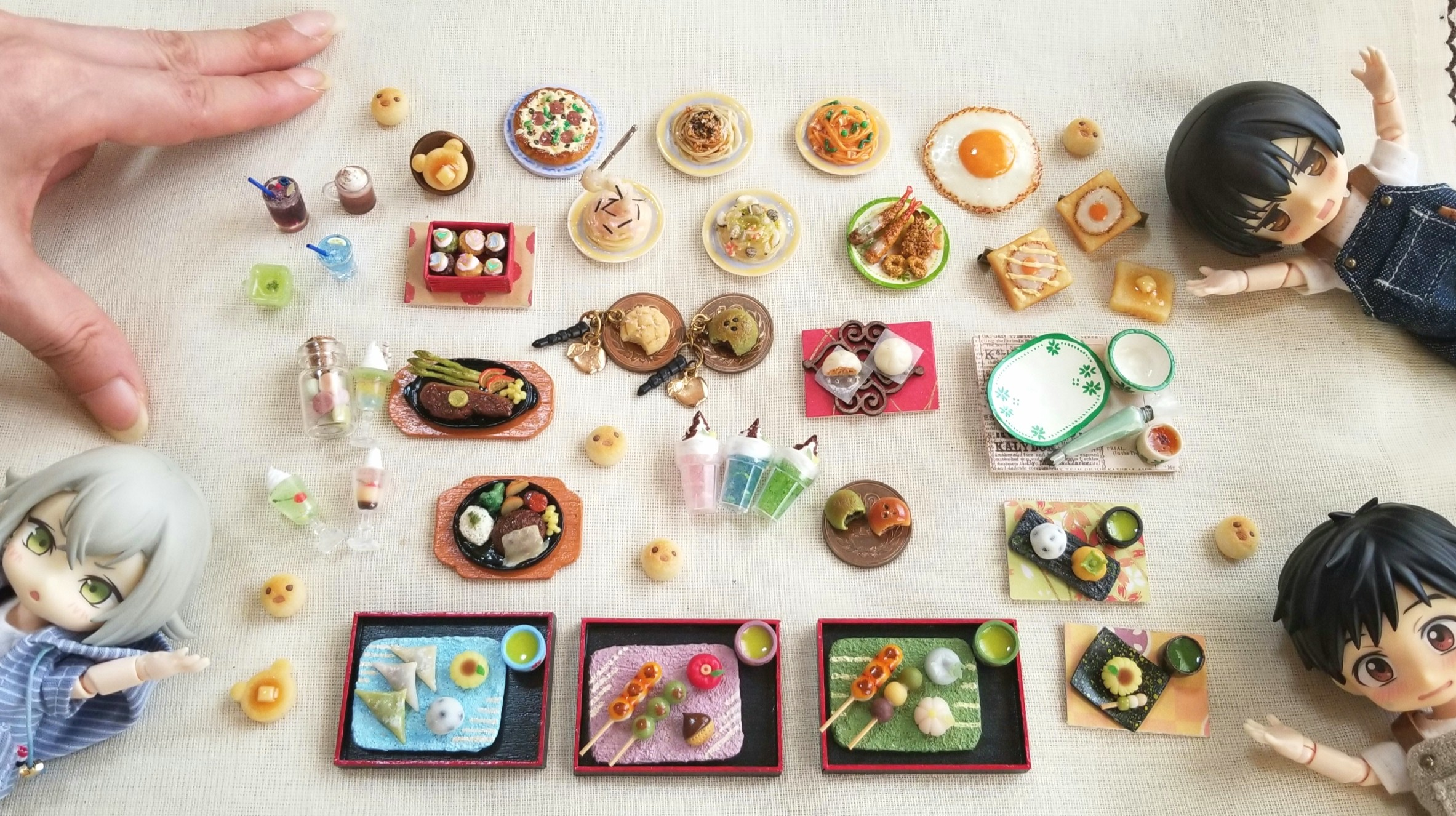 ミニチュア,オビツ11,かわいいドール小物,おもちゃ,ミンネ販売アート