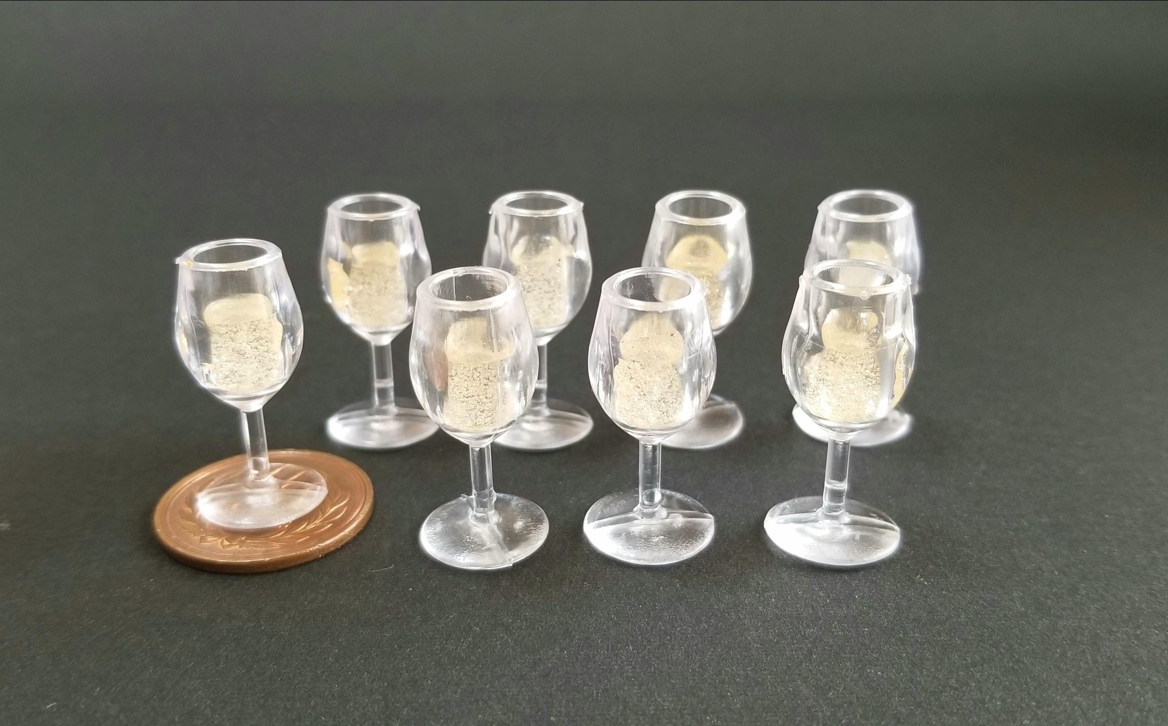 ミニチュア,シャンパン,ワイン,レジン,フェイク,ねんどろ刀剣男士