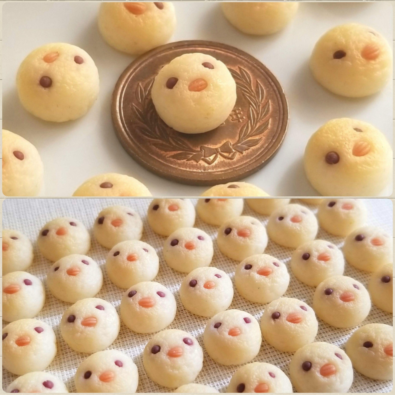 ミニチュアフード,ひよこパン,樹脂粘土,ミンネで販売中,可愛い動物