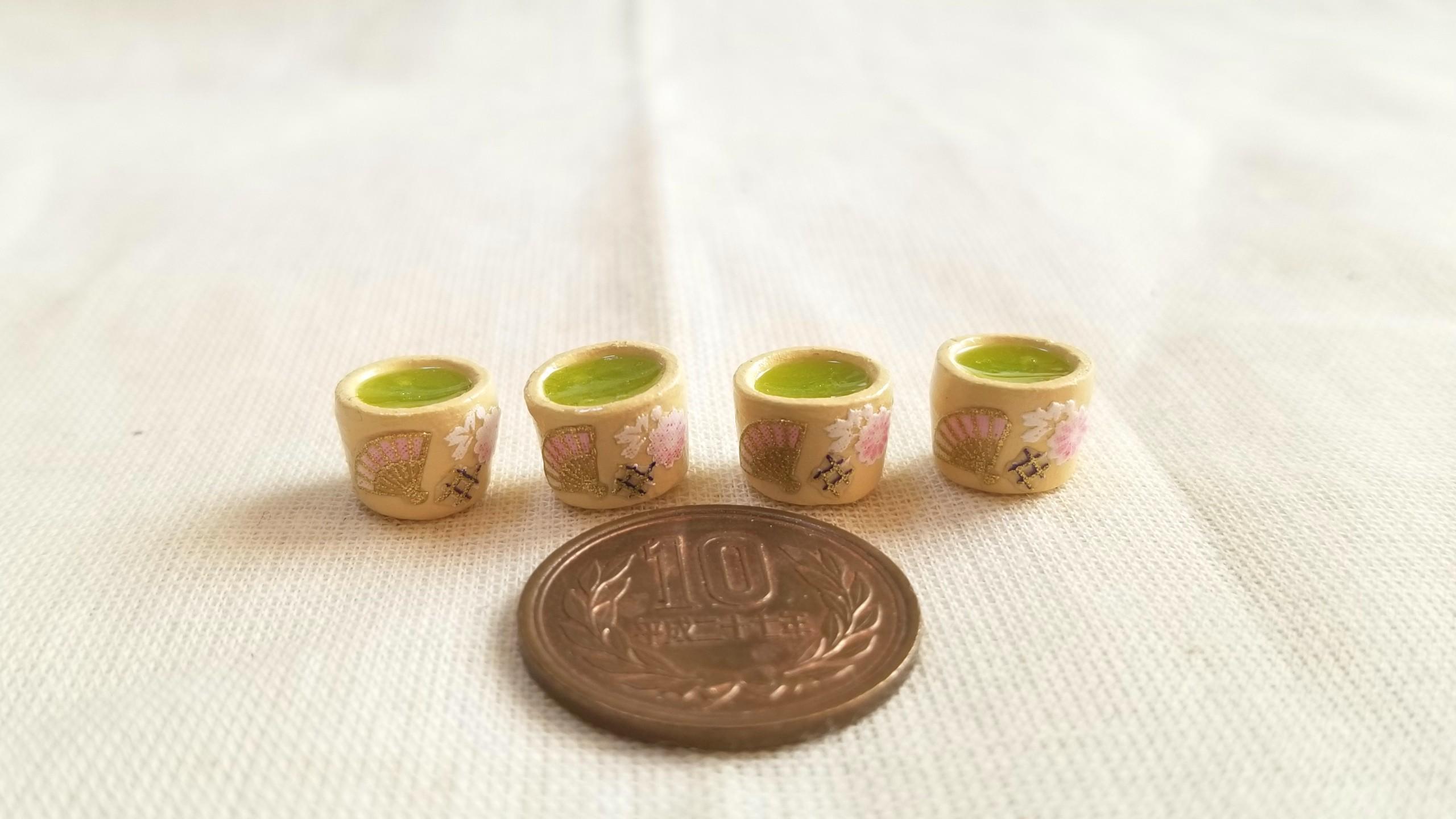 抹茶,レジン,ミニチュア,粘土,ファニカ.キューポッシュ,オビツろいど