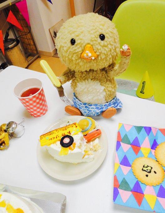 東京トガリ,1歳のお誕生日,バースデーケーキ,嬉しそう