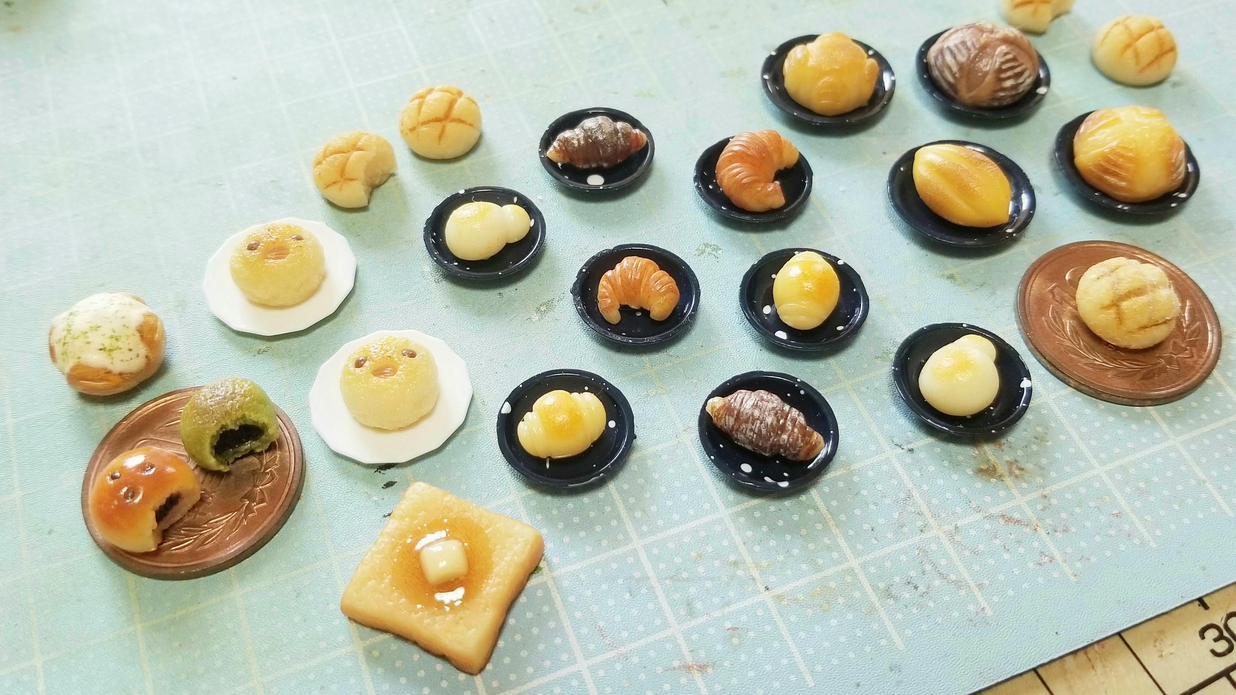 ミニチュアフードの作り方樹脂粘土ハンドメイドイベントミンネ販売中