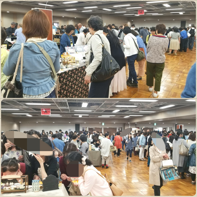 東京ドールハウスミニチュアショウ,浅草,ミニチュアフード,会場
