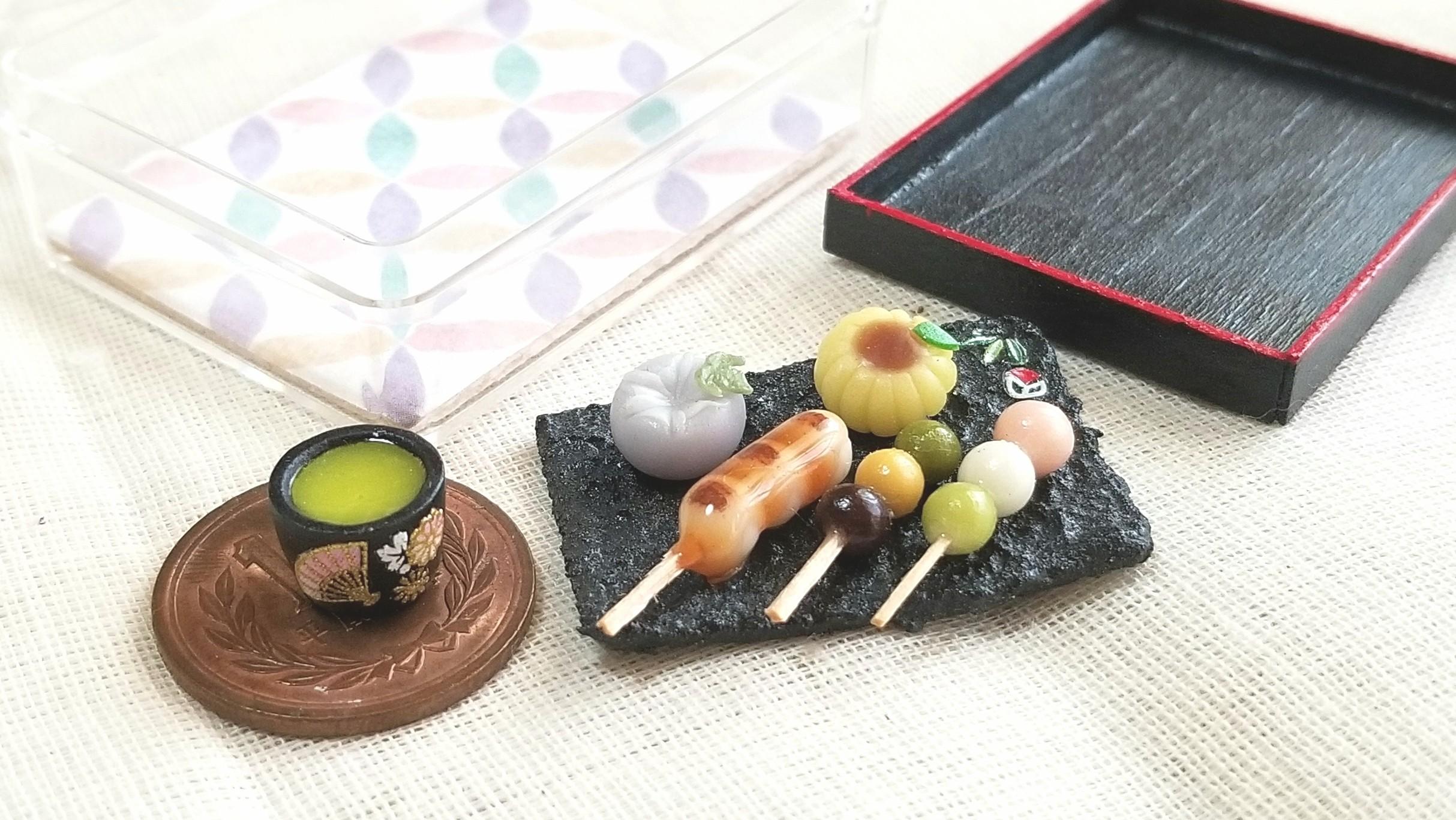 和菓子,三色みたらし団子,練りきり,綺麗,上品,小さい,美味しい,季節