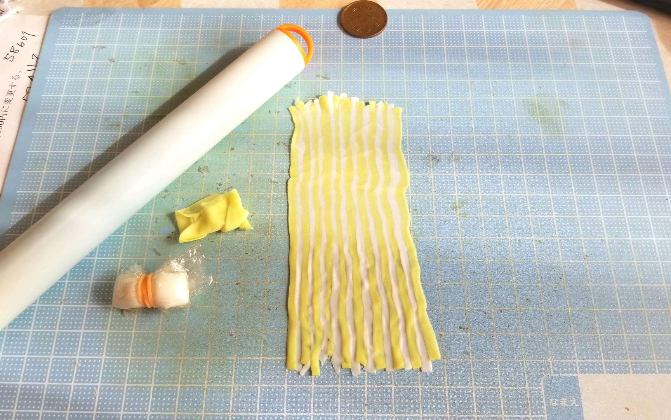 ミニチュアフード,生菓子,和菓子,作り方,樹脂粘土,食品サンプル