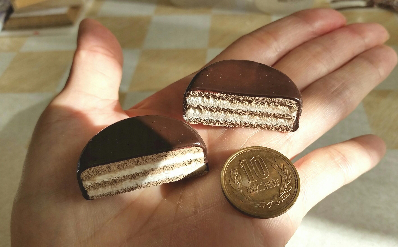 フェイクスイーツ,チョコレートケーキ,紙樹脂粘土,おいしい,まとめ