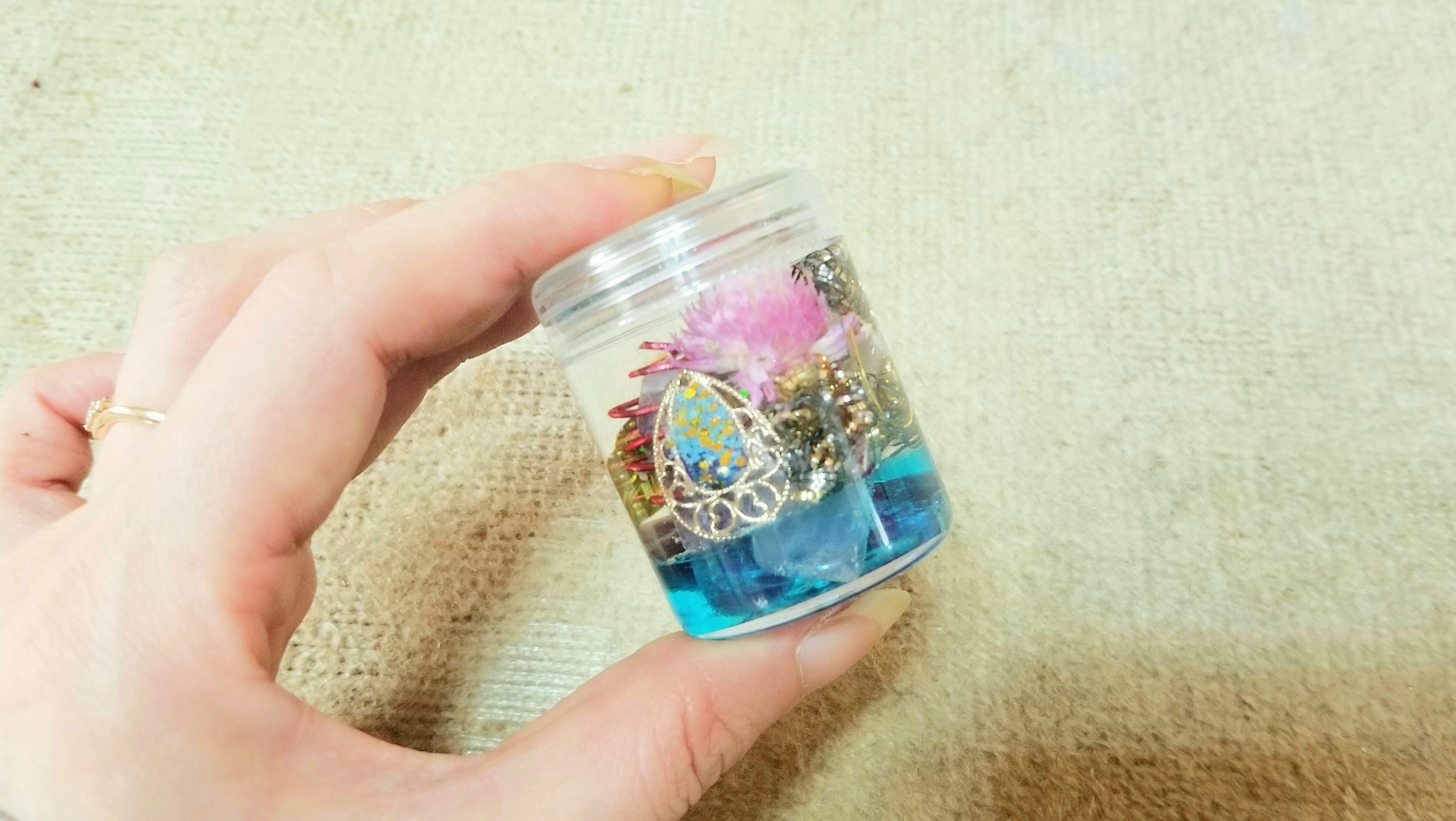 ハンドメイド小物手作りアート作品レジン