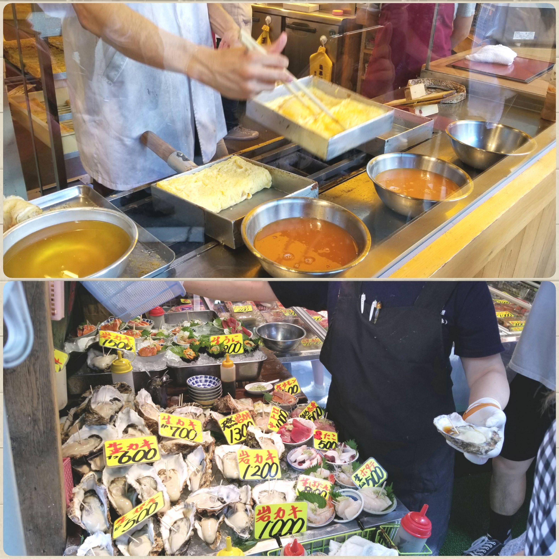 中央区,築地,魚介類,玉子焼き,シーフード,安い,美味しい,旅行,観光