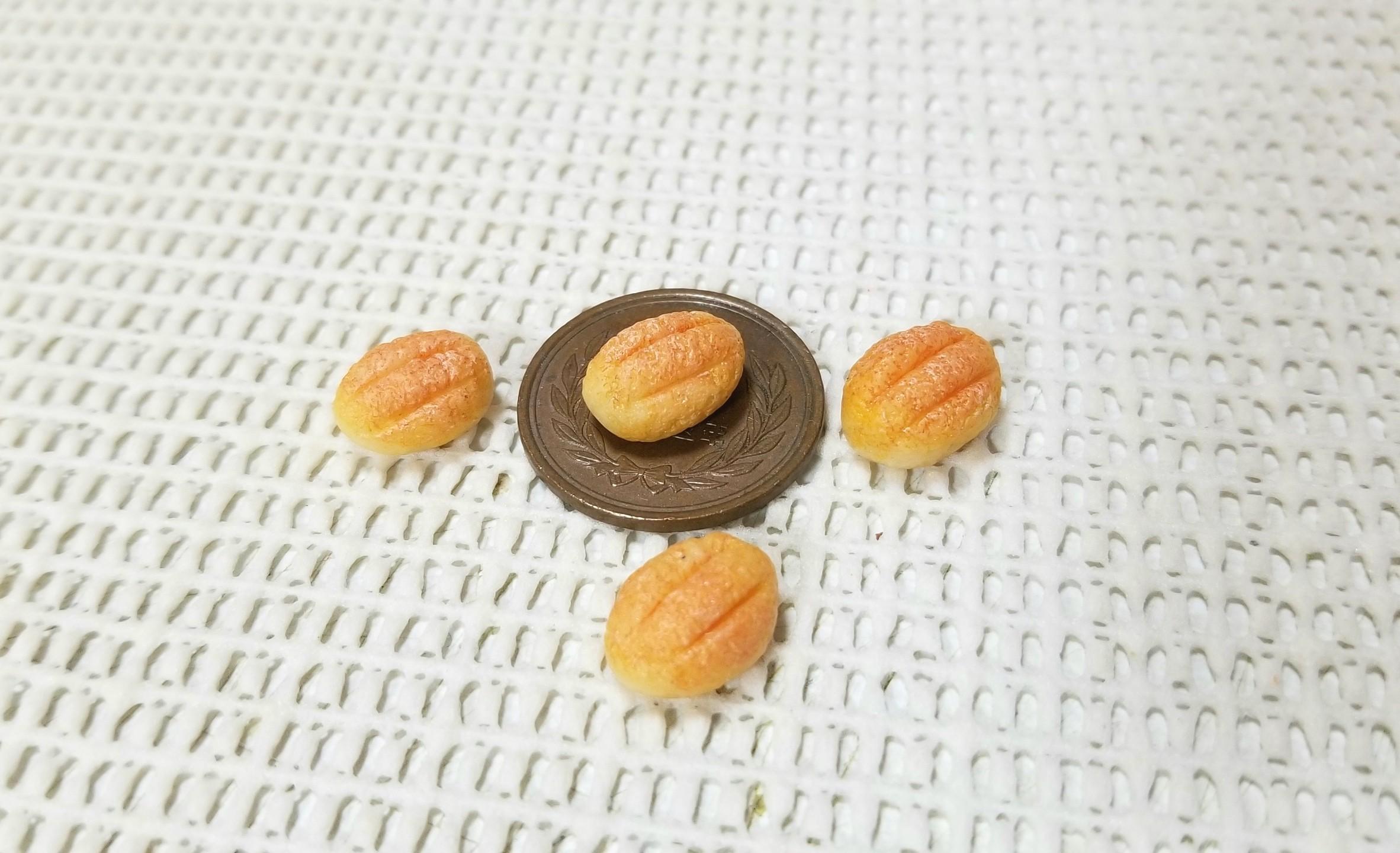 ミニチュアフード,アーモンドパン,樹脂粘土,フェイクフード,サンプル
