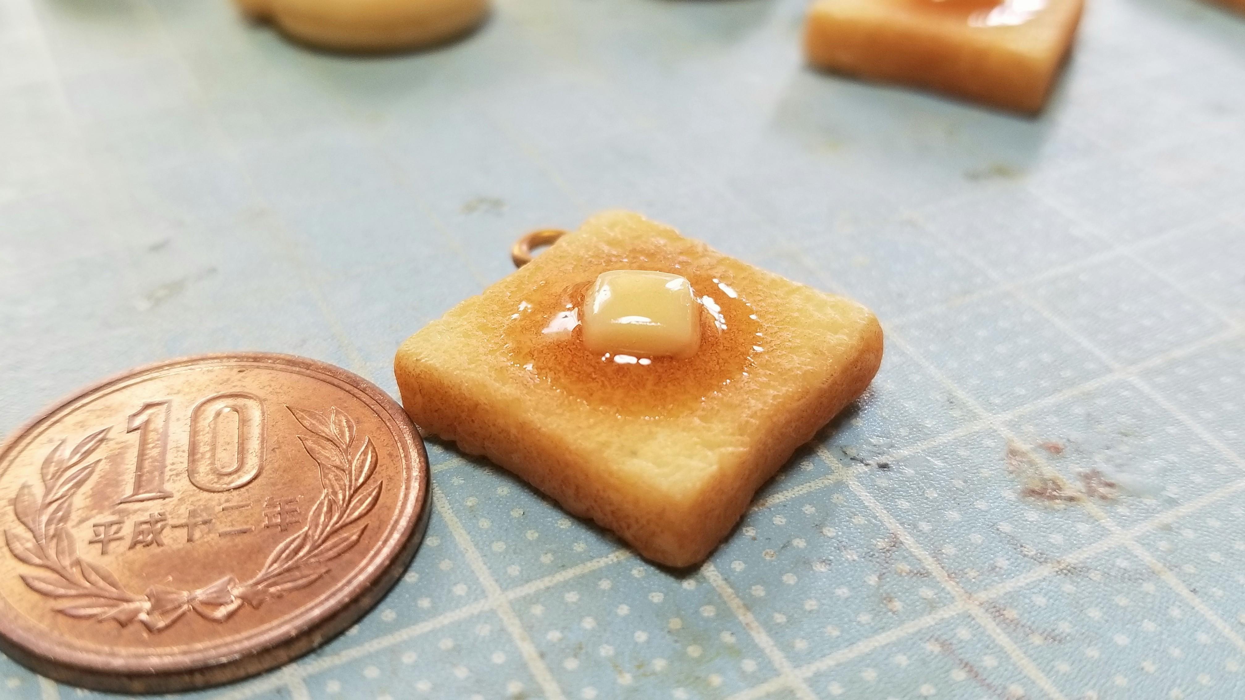 ミニチュアフード食パントーストおいしい人気おすすめブログ作り方