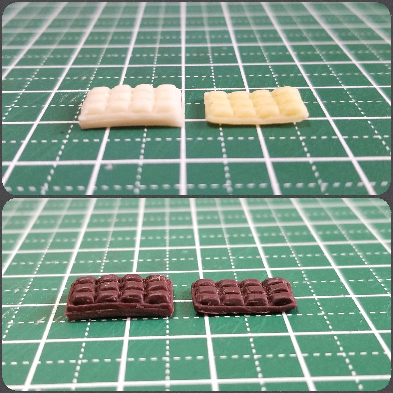 ミニチュア,板チョコレート,食品サンプル,ねんどろいど,ドール