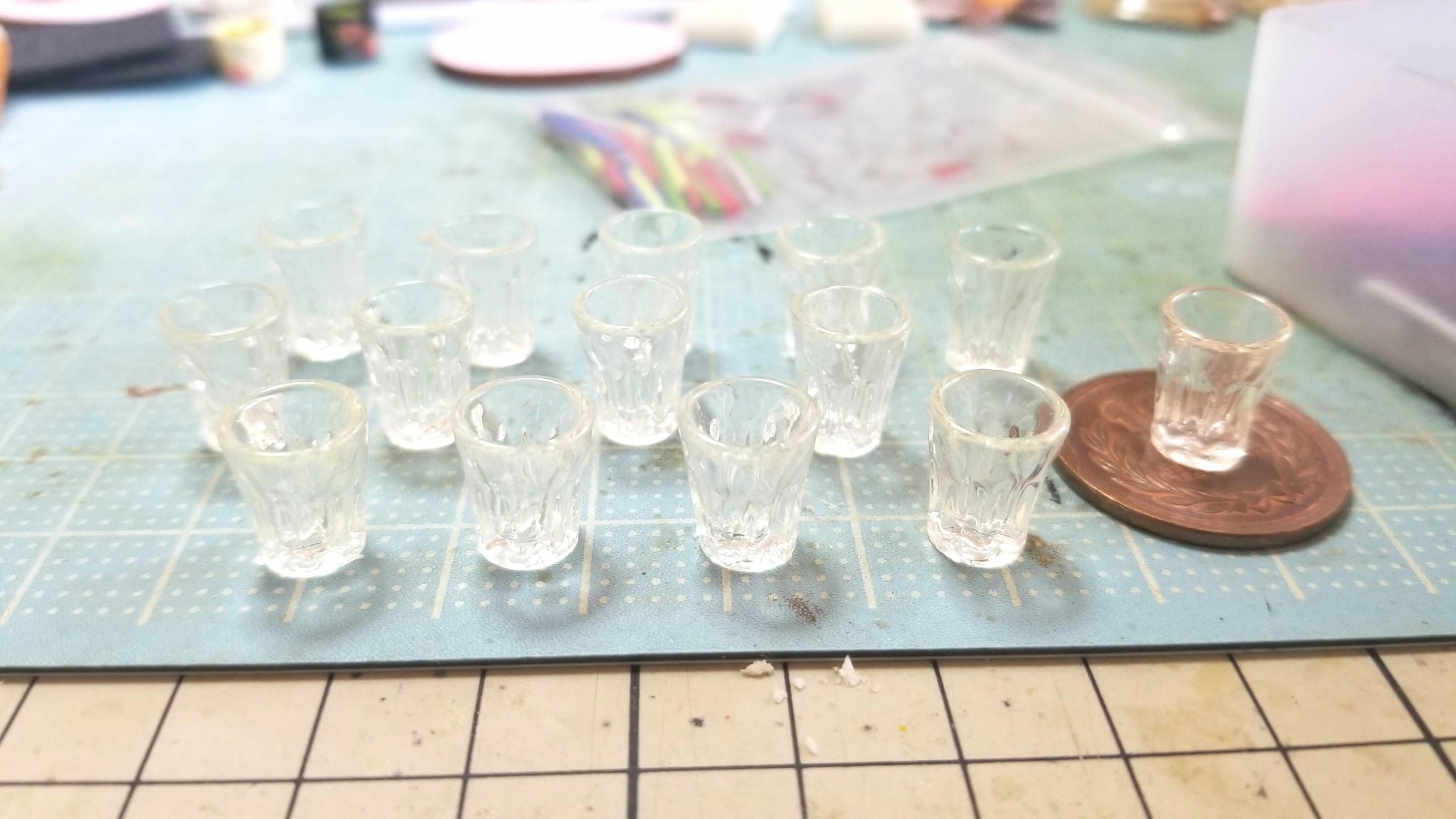ミニチュアフードドリンク飲み物ジュース作り方,ハンドメイド小物