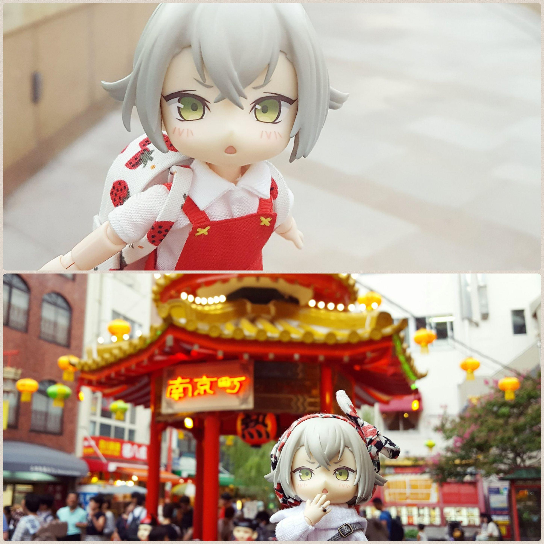 可愛い刀剣乱舞蛍丸,横浜中華街,南京町,どきどきワクワク観光旅行
