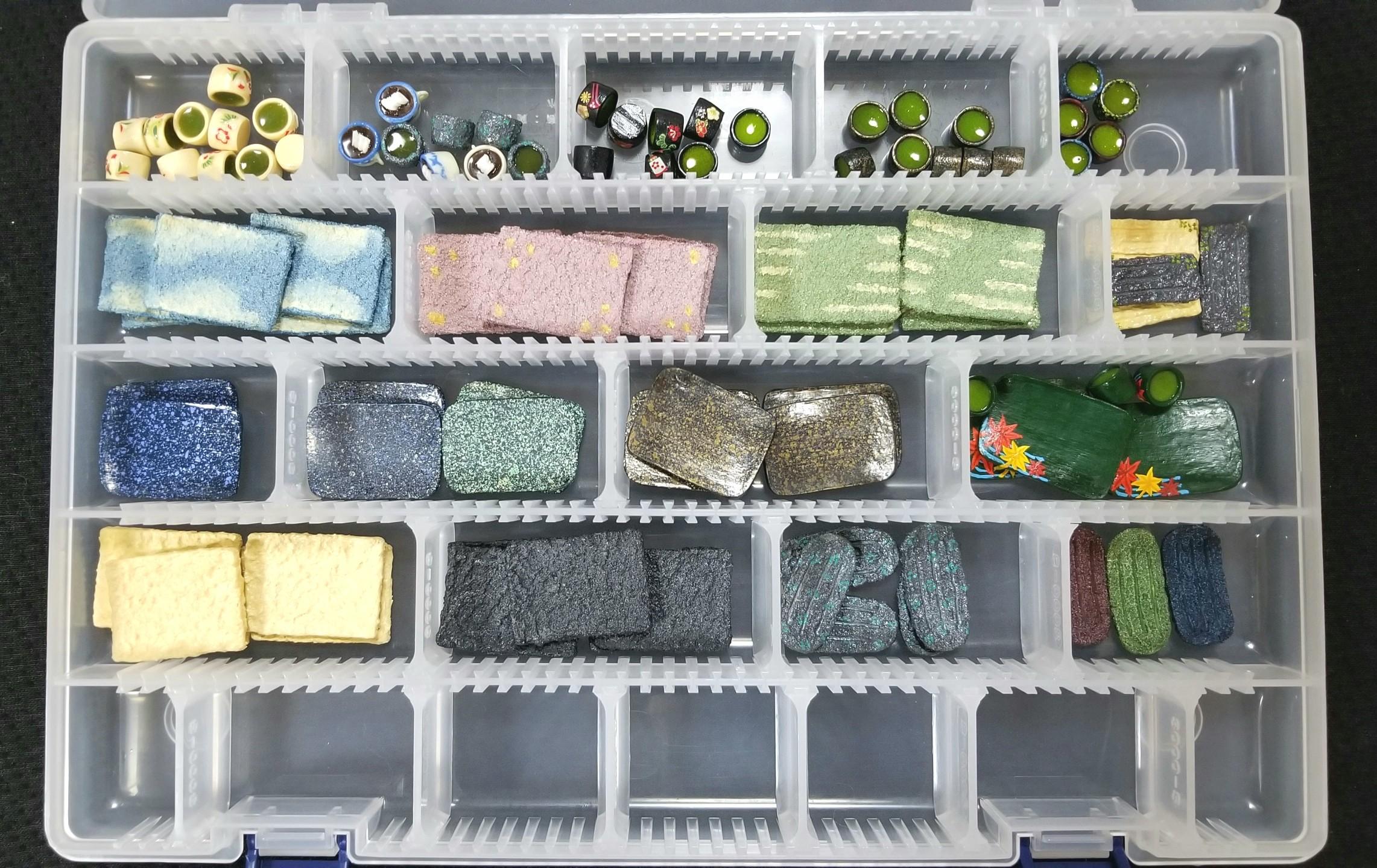 ミニチュアフード,和風食器,お皿,シルバニア,オビツ,ねんどろ,人形