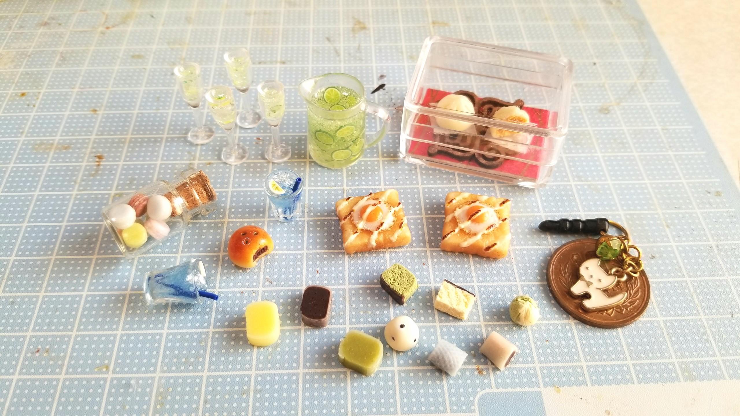 ミニチュアフード世界,かわいい小さい,ドール用小物おもちゃ,ブログ