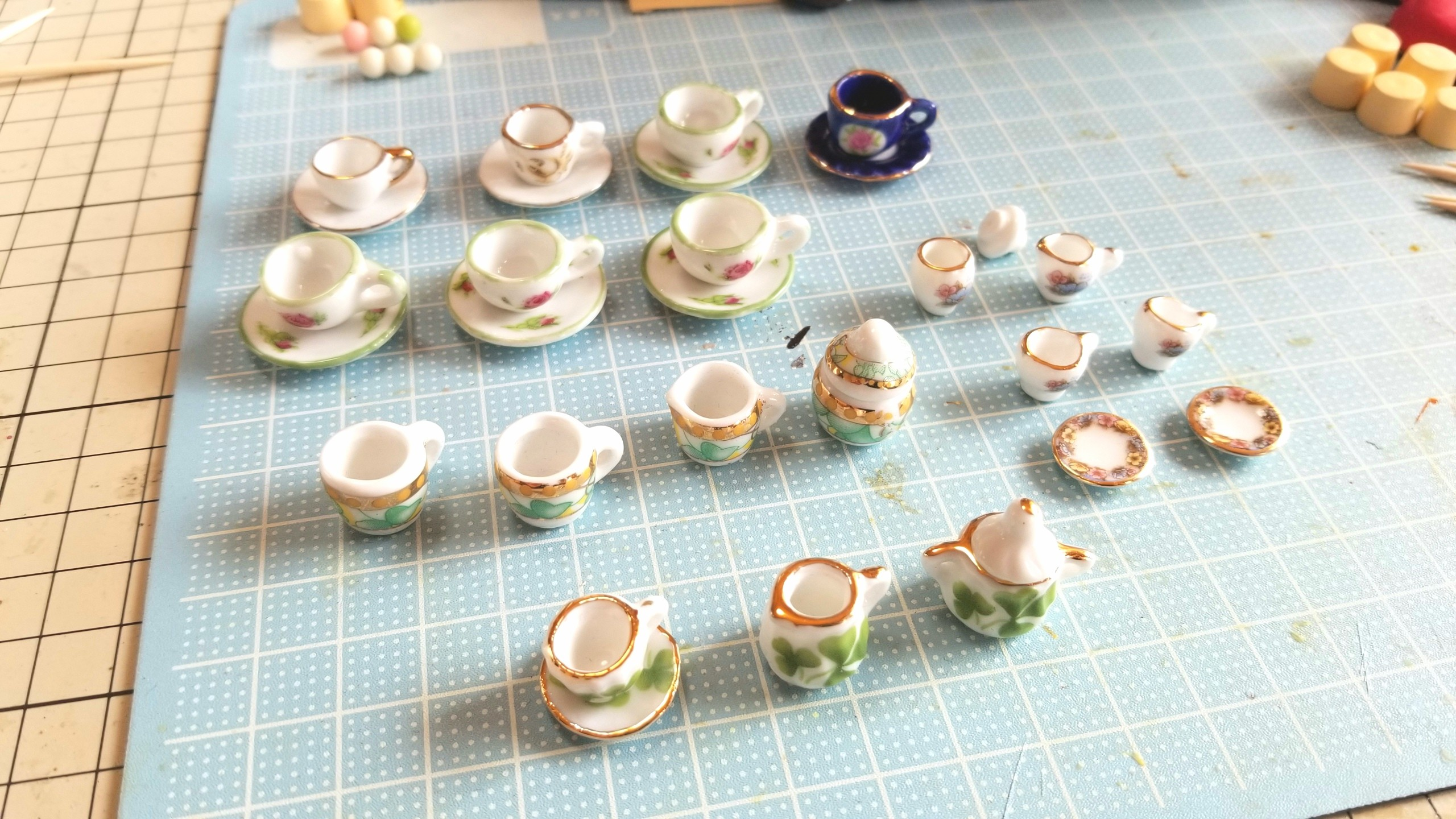 かわいいお洒落な,おすすめ,陶器のティーカップセット,よもぎブログ