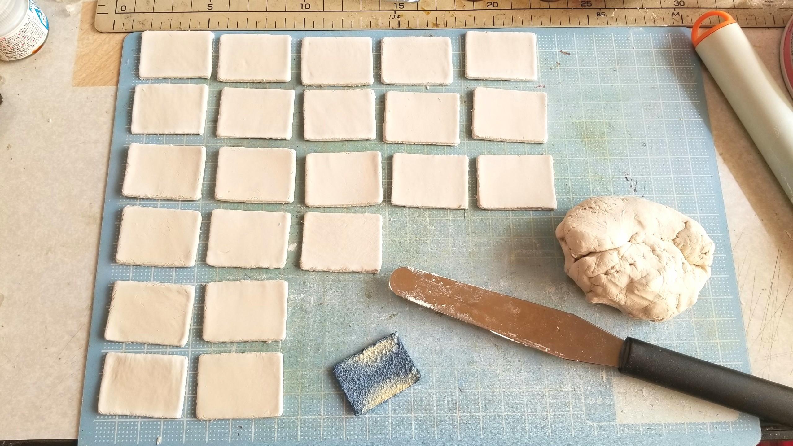 陶器風和食器,作り方,粘土,ミニチュアフード,ハンドメイド,お皿