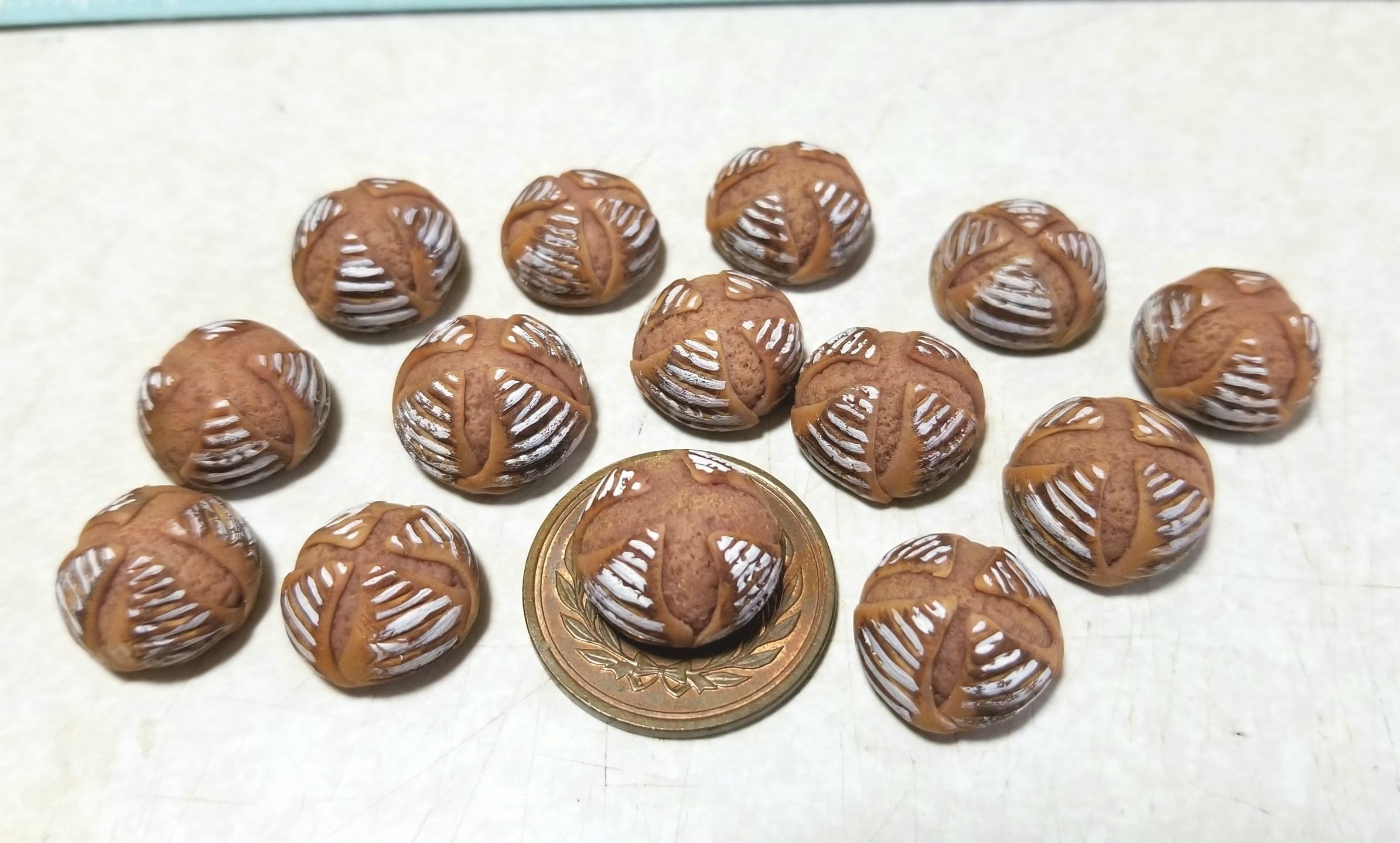 ミニチュア, パン, カンパーニュ, 作り方, 樹脂粘土, シルバニア