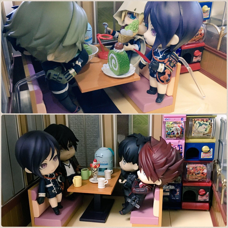 刀剣乱舞,薬研藤四郎,カッコいい,イケメン刀剣男士,喫茶店でまったり