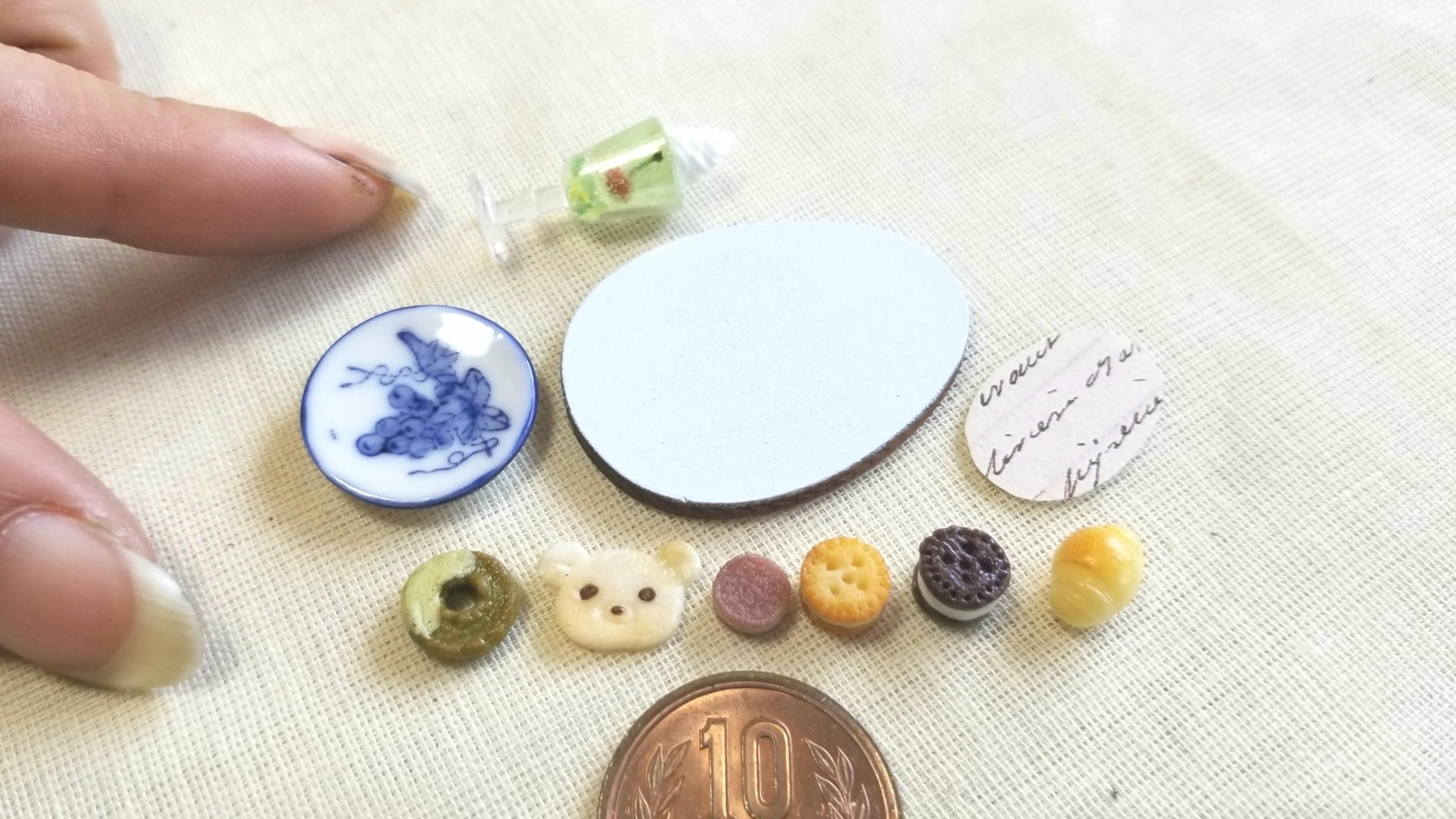 ミニチュアフード,かわいいドール用品小物,ミンネで販売中,おもちゃ