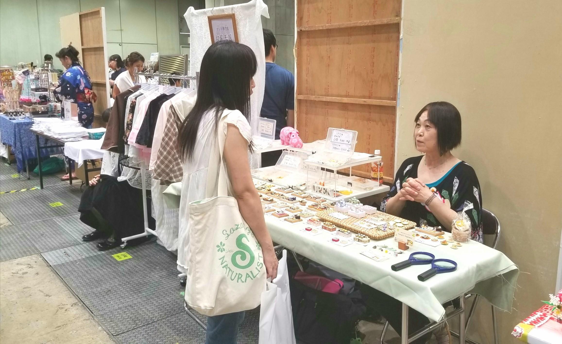 ミニチュアフード,ハンドメイドインジャパンフェス2017