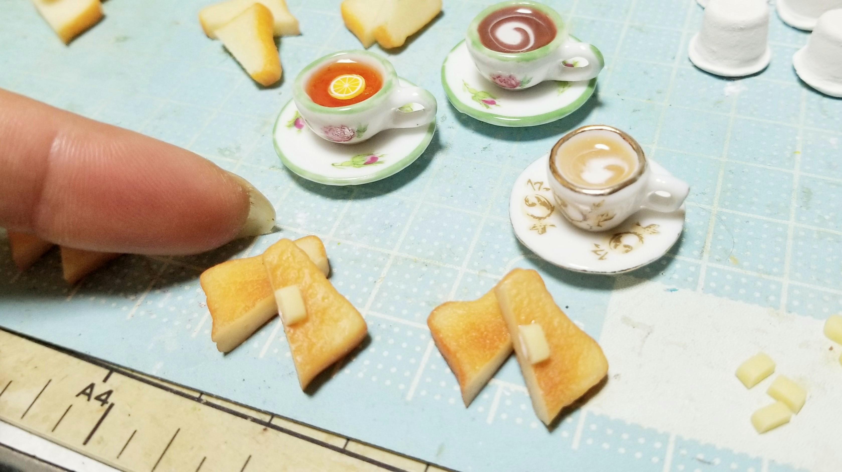 ミニチュアフードイベント愛媛今治四国ハンドメイド樹脂粘土ドール