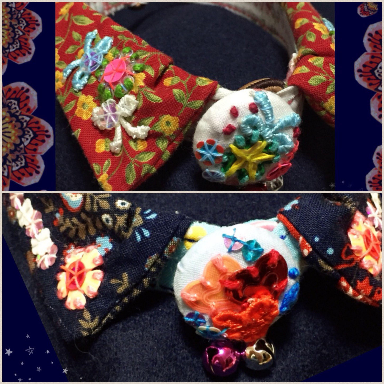 Ami,時の花や,ハンドメイドねこ首輪,小物ショップ,にゃんこ