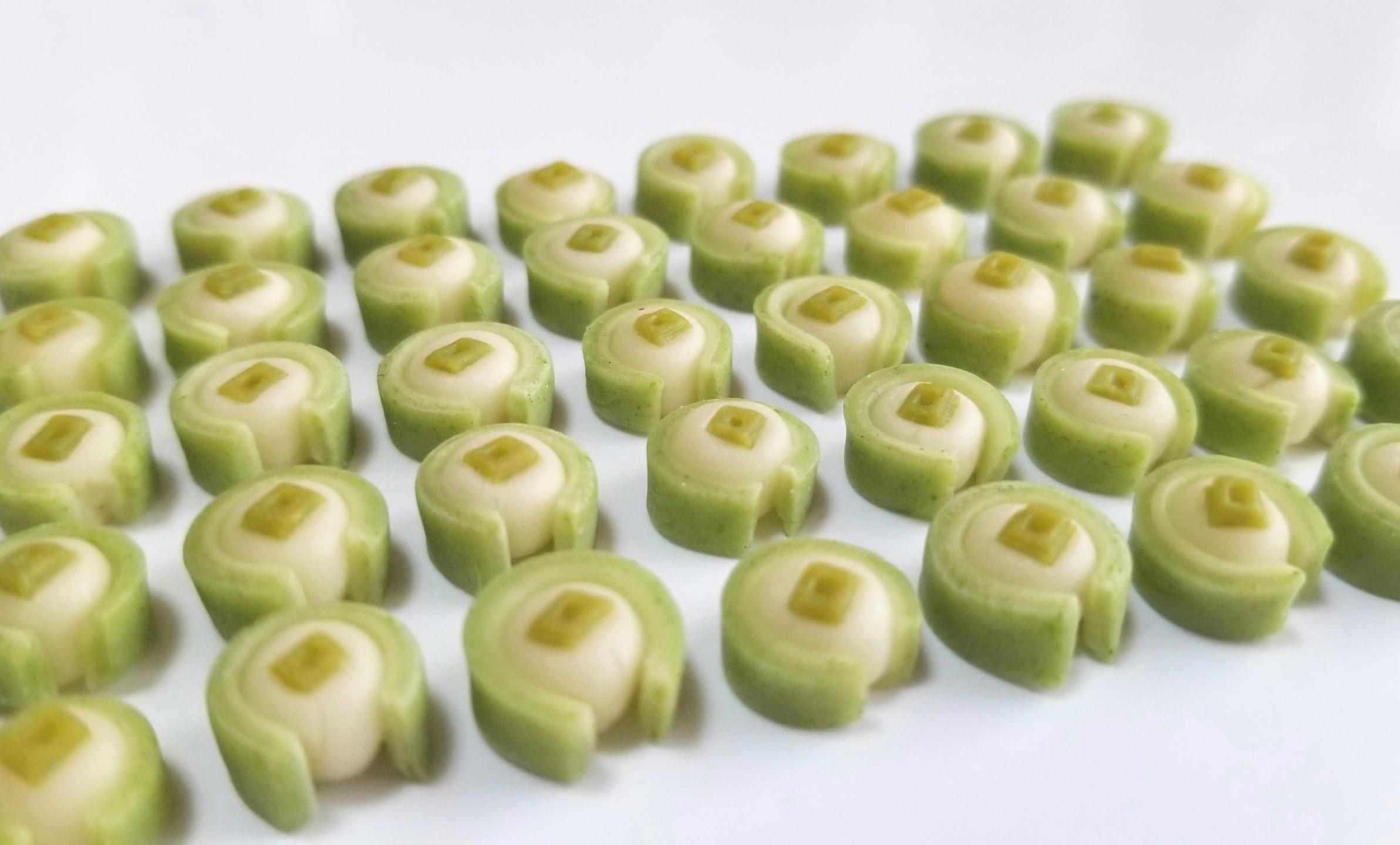 ミニチュアフード,京都の和菓子,樹脂粘土,オビツろいど,シルバニア
