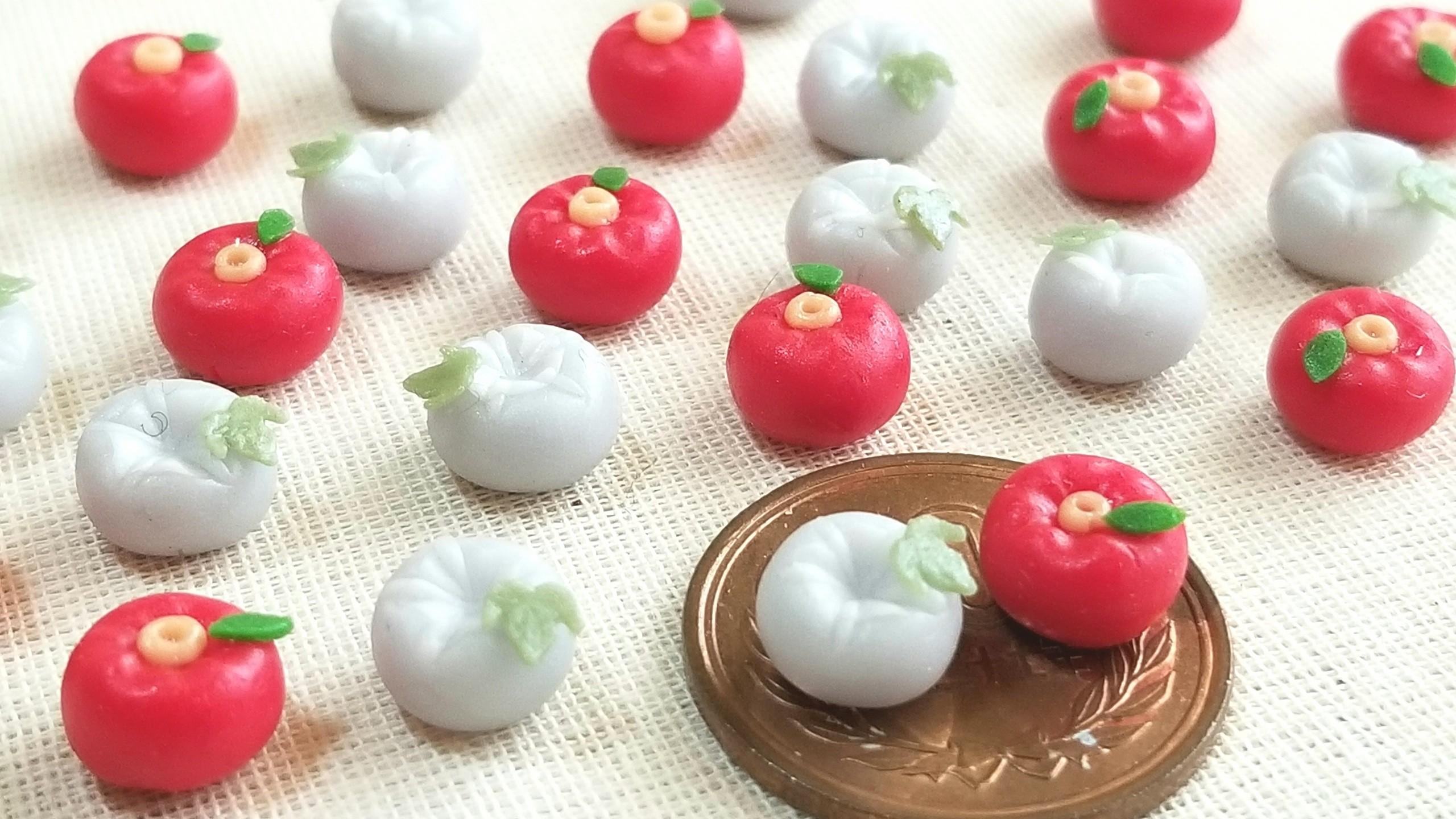 小さくて可愛い練りきり,小さな和菓子,春夏秋冬,季節のお茶生菓子