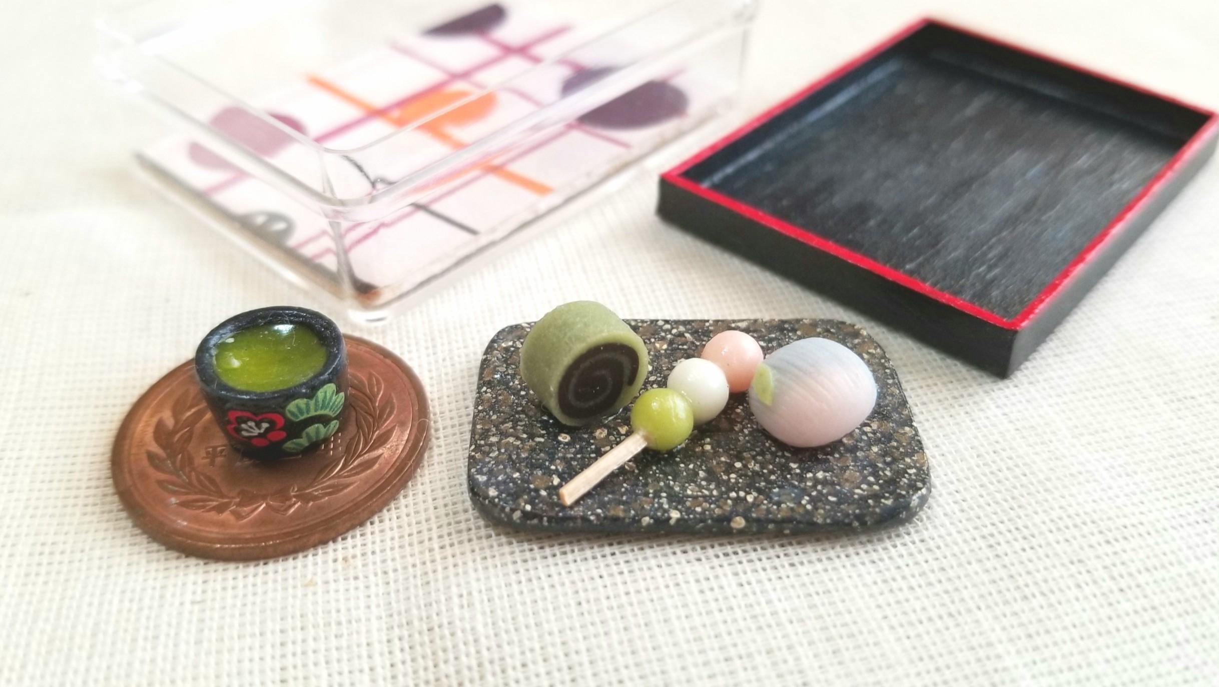 和菓子,三色団子,練りきり藤,抹茶餡,可愛,絶品,小さい,美味しい,古風