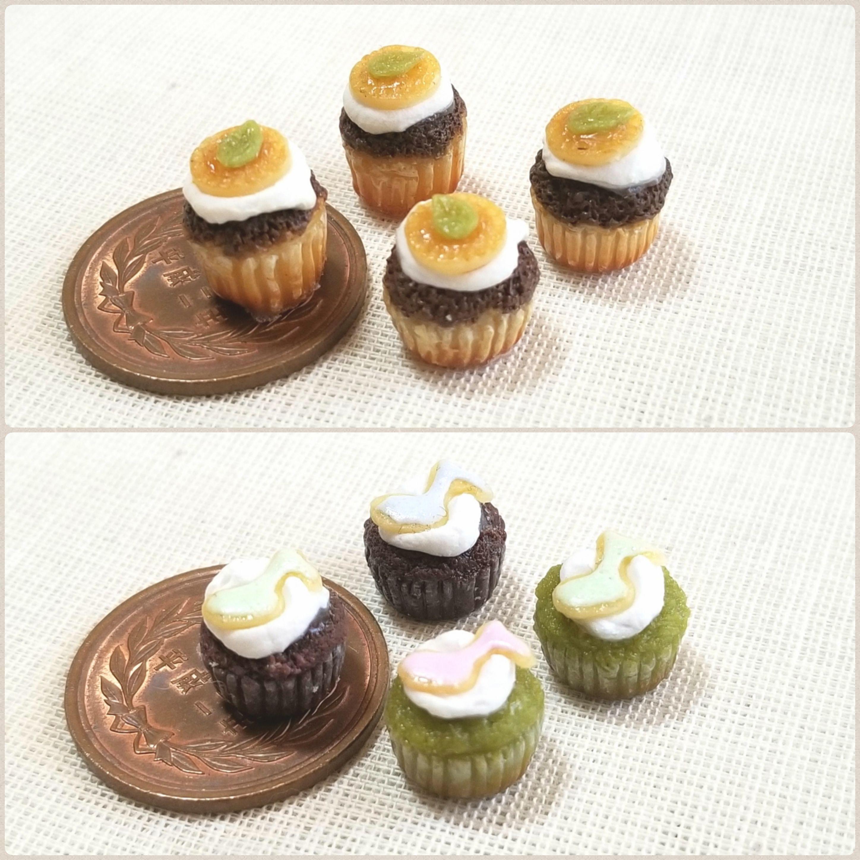 ミンネで割引き販売中,ミニチュアカップケーキ,ドール小物おもちゃ
