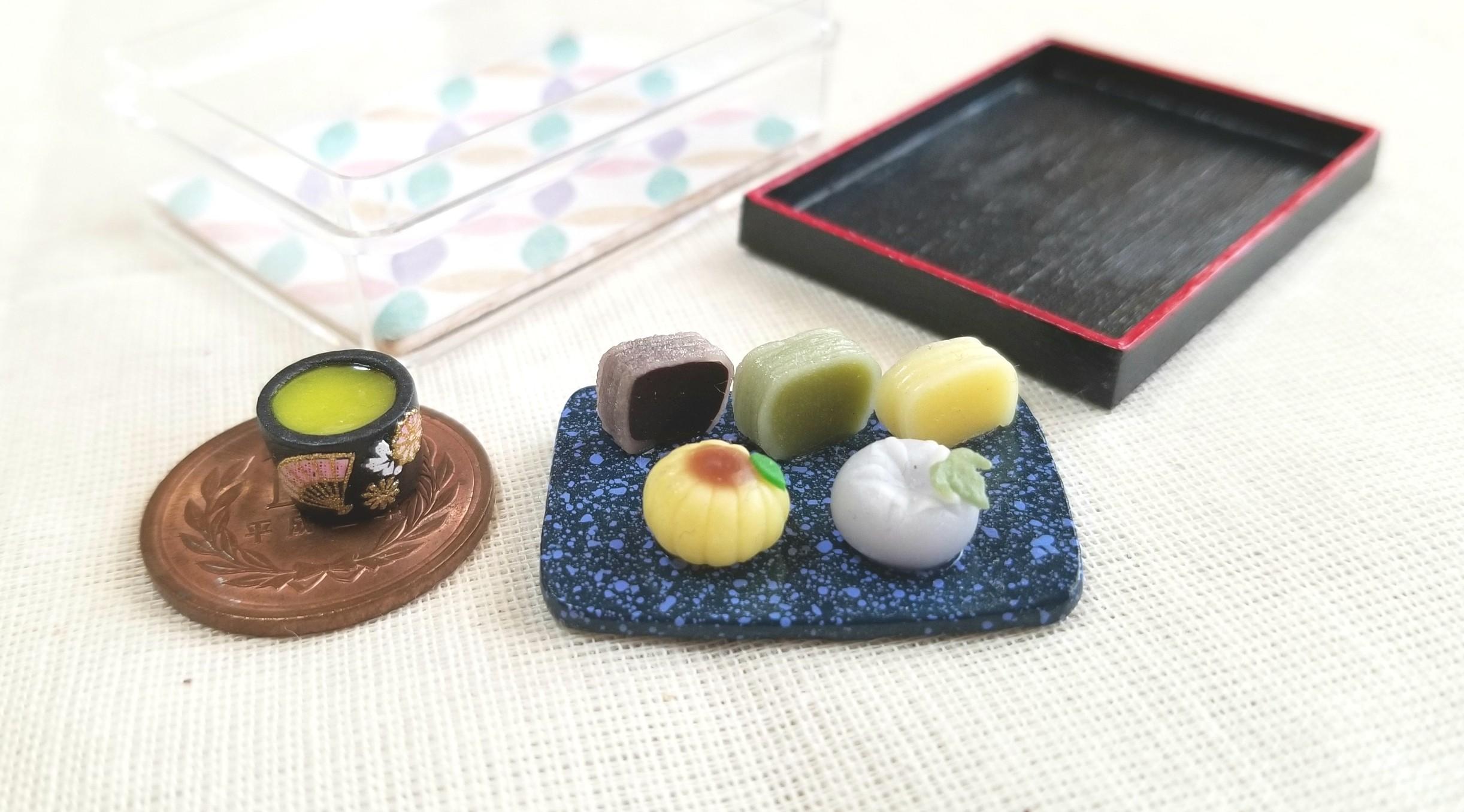 和菓子,羊羮,ひまわり,朝顔,練りきり,綺麗,可愛,小さい,美味しい,夏