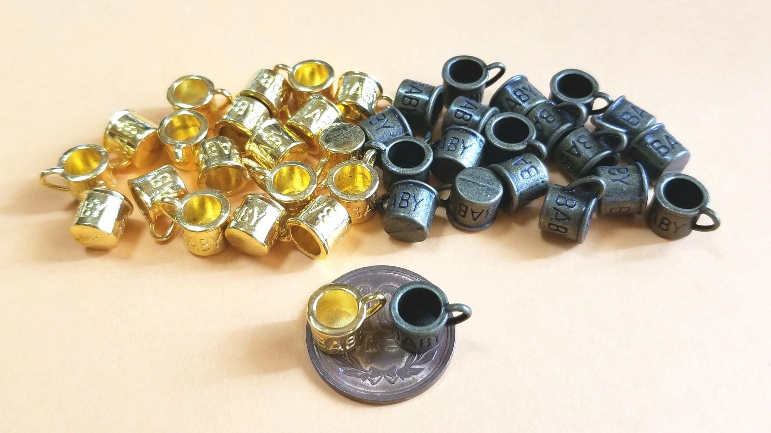 マグカップ,金古美,ゴールド,小さいサイズ,道具材料,購入品,可愛い