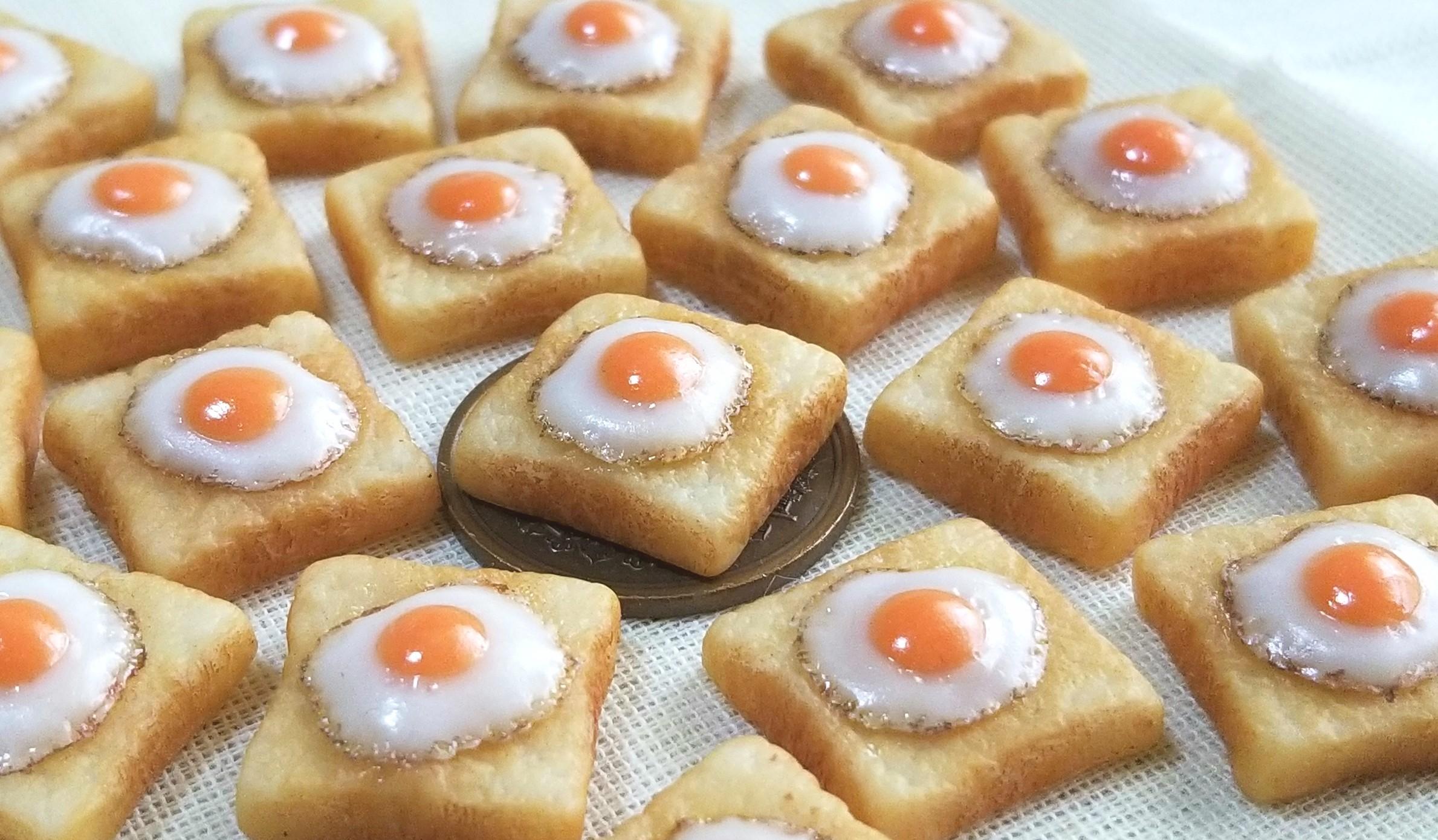 ラピュタ,ミニチュアフード,食パン,トースト,オビツ11,シルバニア